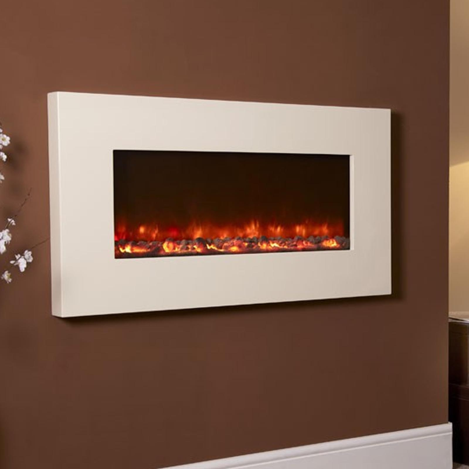 Huge Savings Celsi Electriflame Ivory Electric Fire