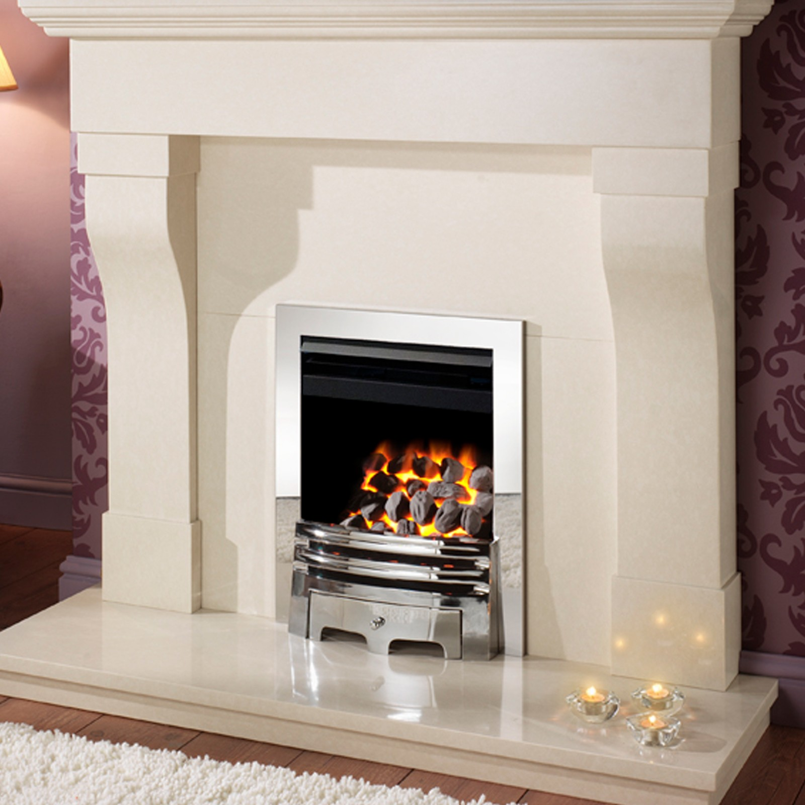 high output crystal fires gem open fronted inset gas fire low