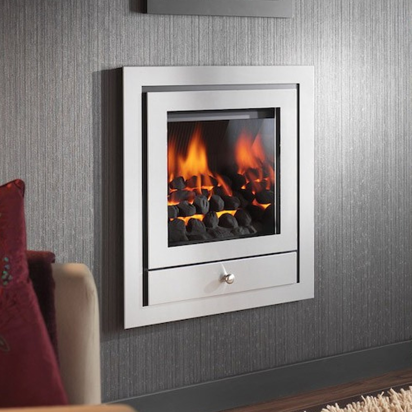 modern gas fire crystal fires royale hole in the wall gas fire sale prices. Black Bedroom Furniture Sets. Home Design Ideas