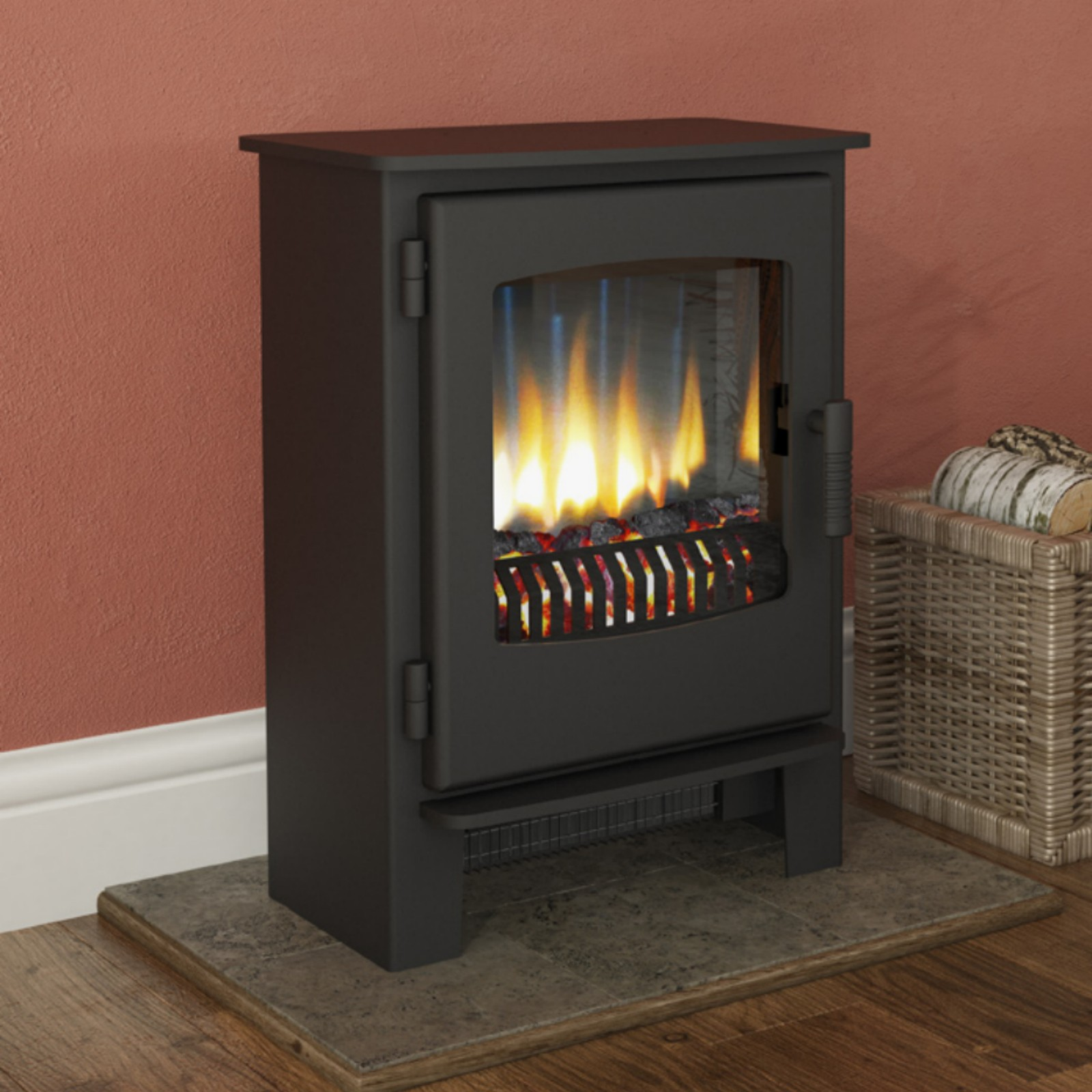 Contemporary Fire Broseley Desire 5 Electric Stove Free Delivery