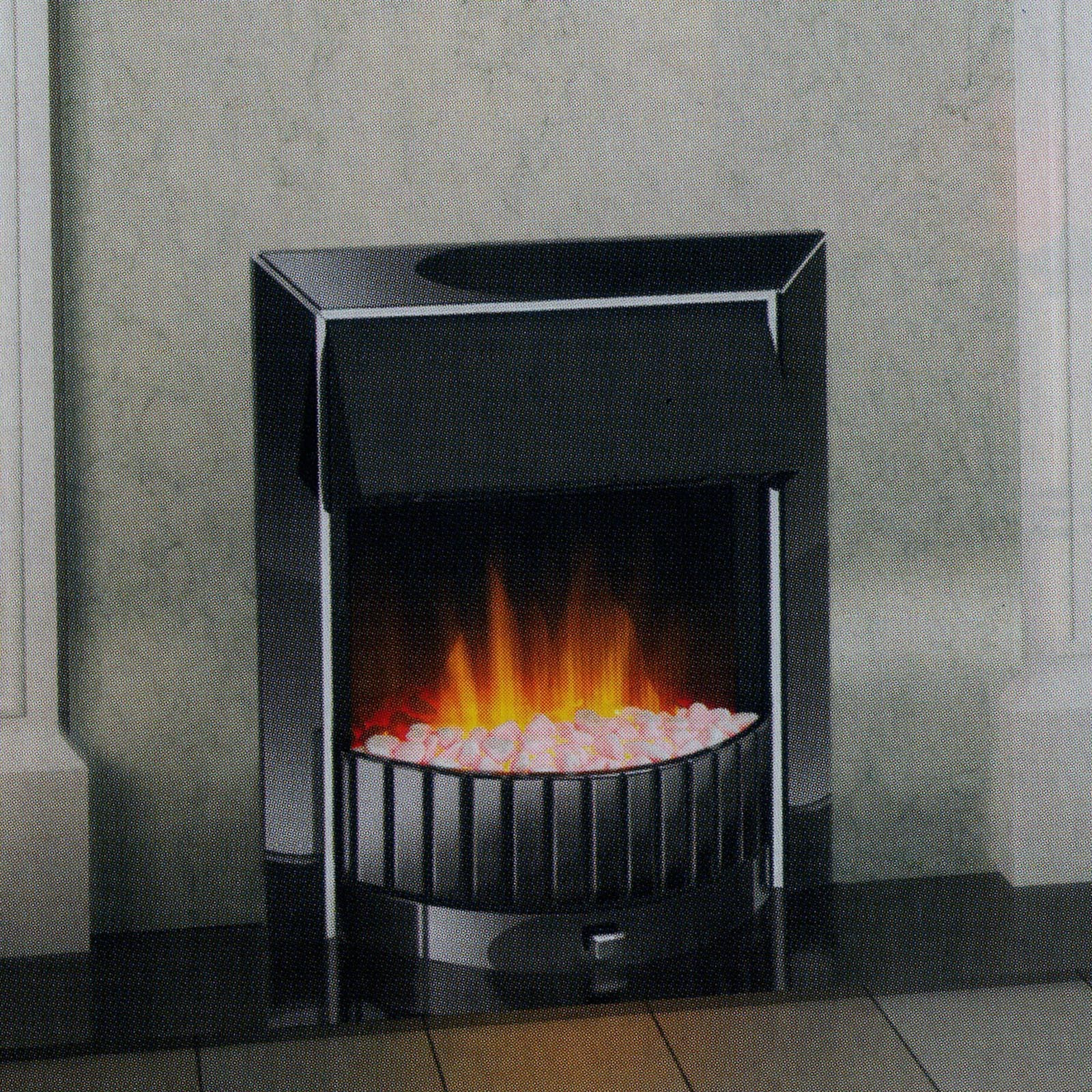 Bargin Prices Dimplex Delius Black Nickel Optiflame