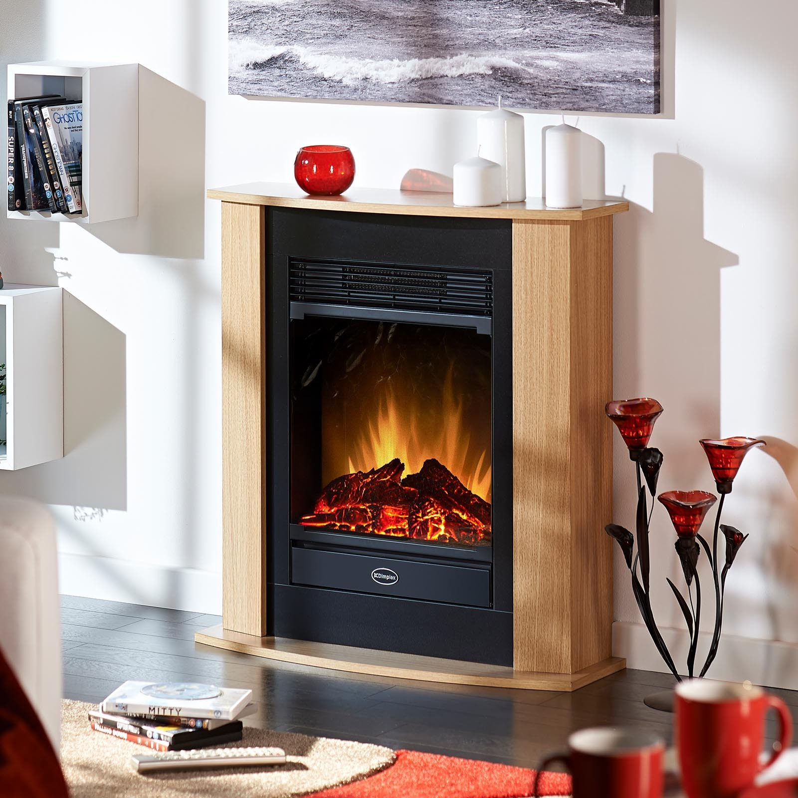 electric fireplace sale linear on outdo ideas