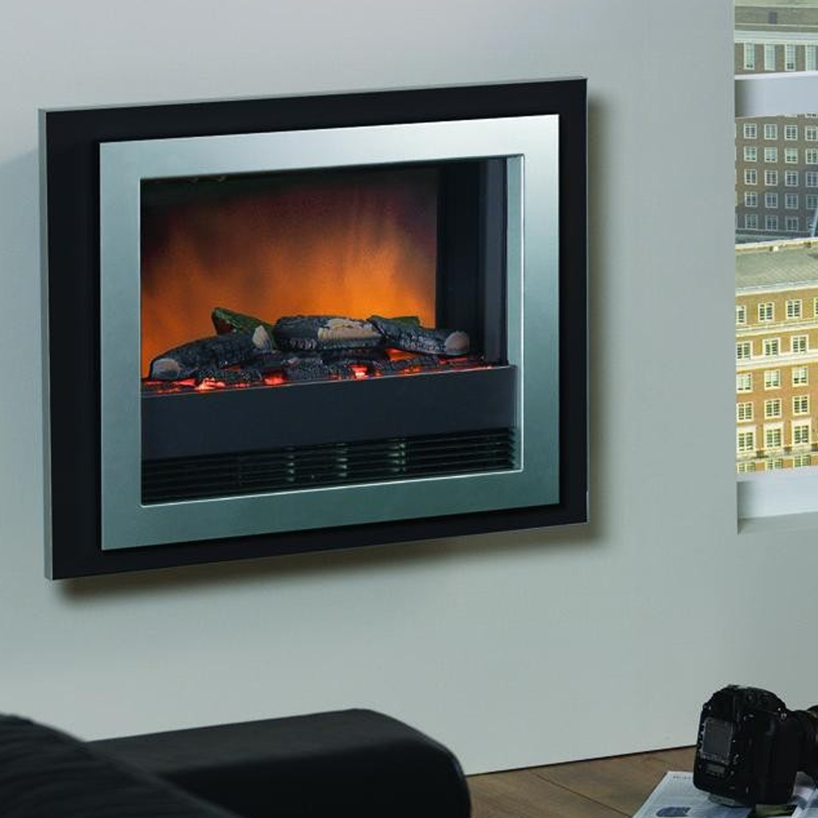 Dimplex Bizet Optiflame Wall Mounted Electric Fire