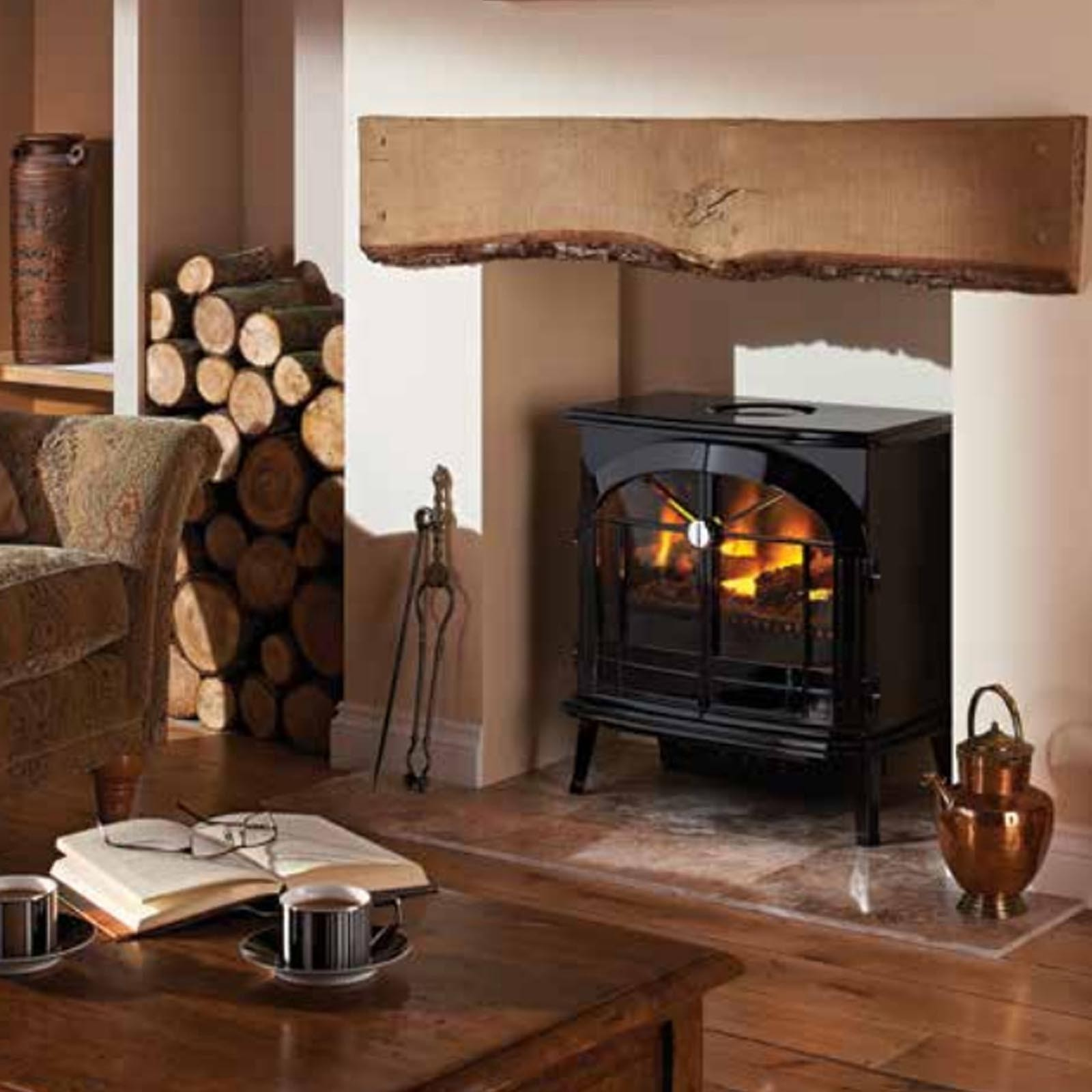 new in dimplex burgate black gloss electric opti myst stove