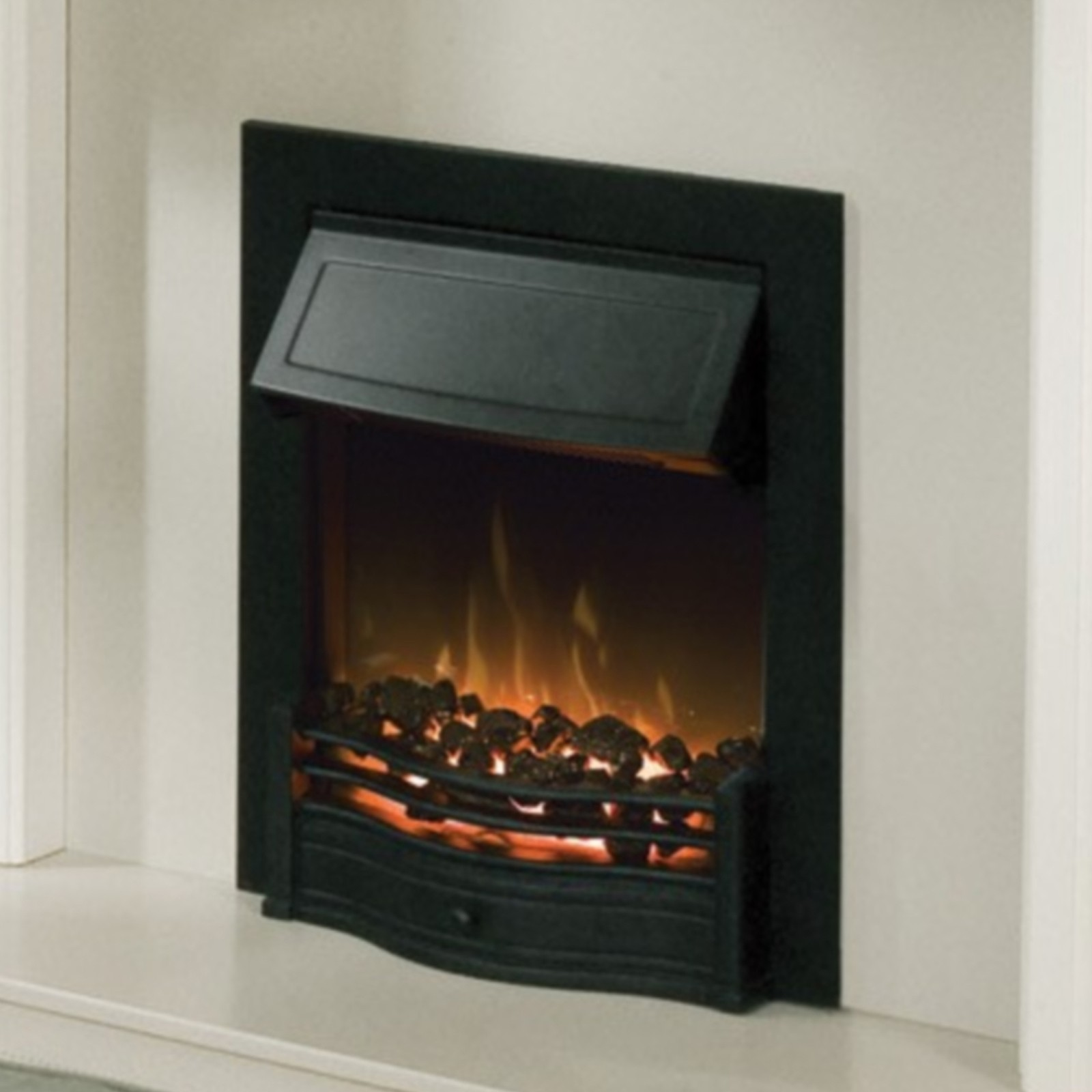 Stunning Dimplex Danesbury Black Optiflame Electric Fire