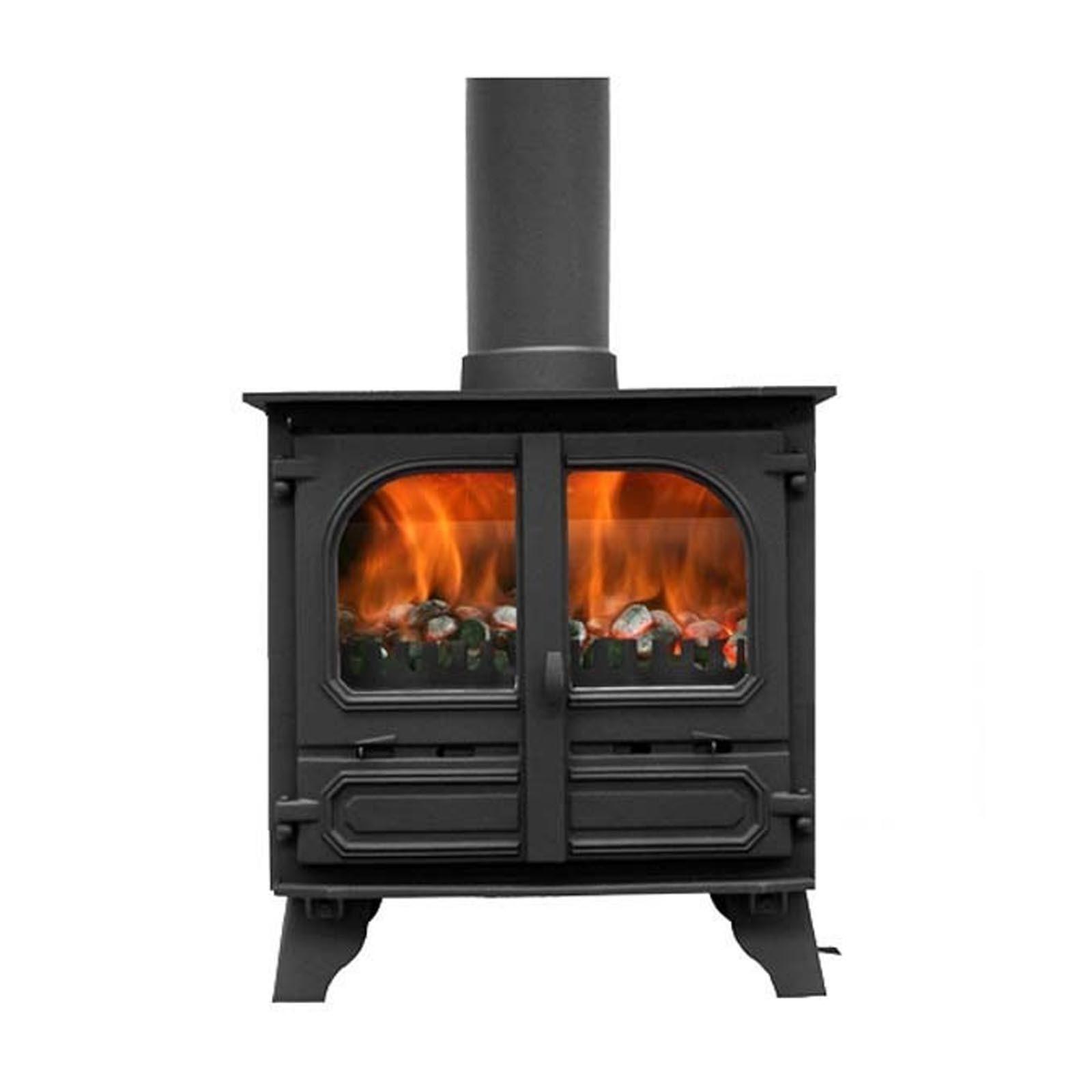 great deals dunsley highlander 8 multi fuel. Black Bedroom Furniture Sets. Home Design Ideas
