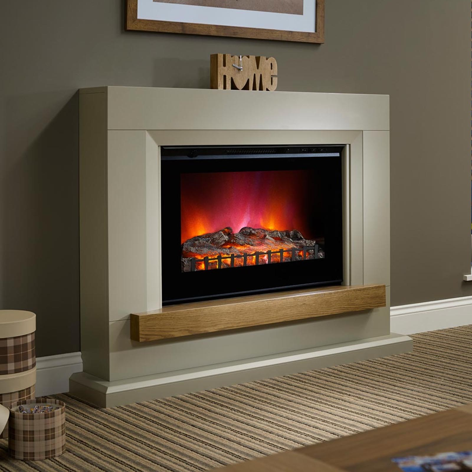 Not To Be Missed Elgin Hall Heywood 46 Electric Fireplace Suite Free Delivery