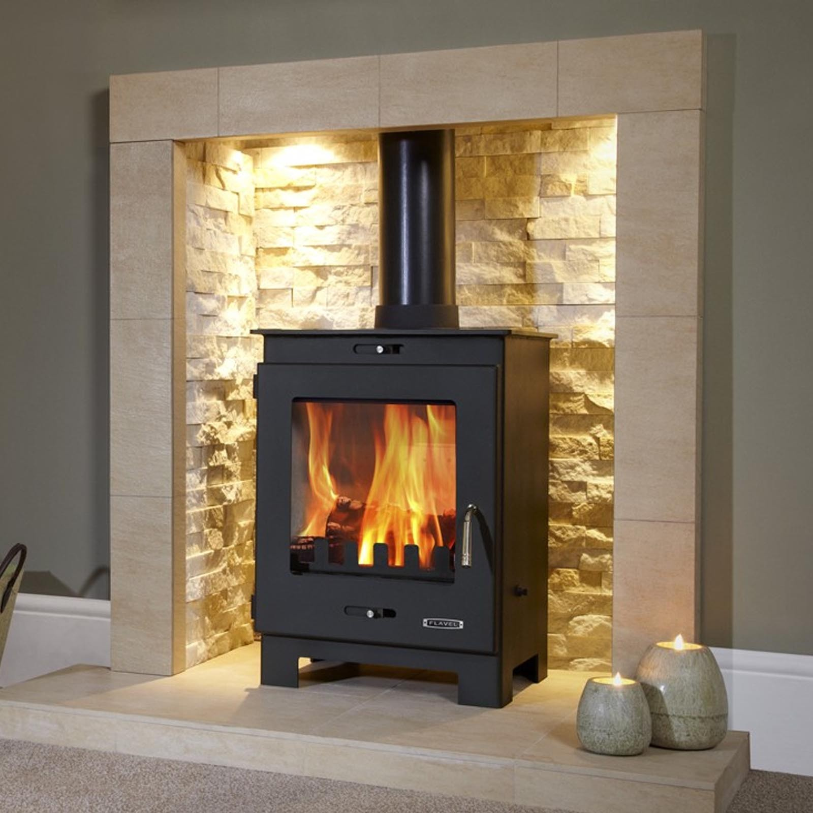 Next Day Delivery Flavel Arundel Multifuel Stove Great