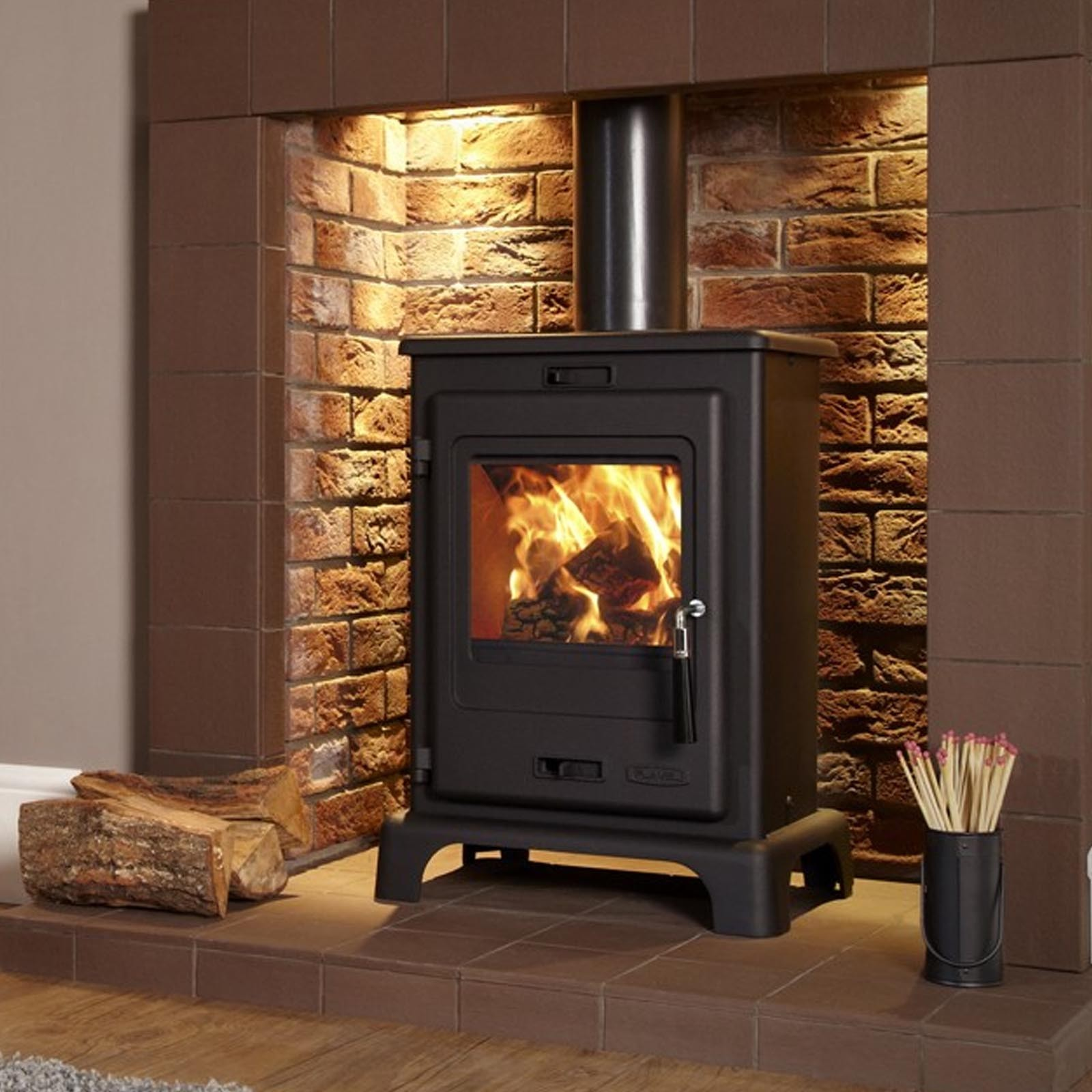 new in flavel dalton multi fuel stove free uk mainland. Black Bedroom Furniture Sets. Home Design Ideas