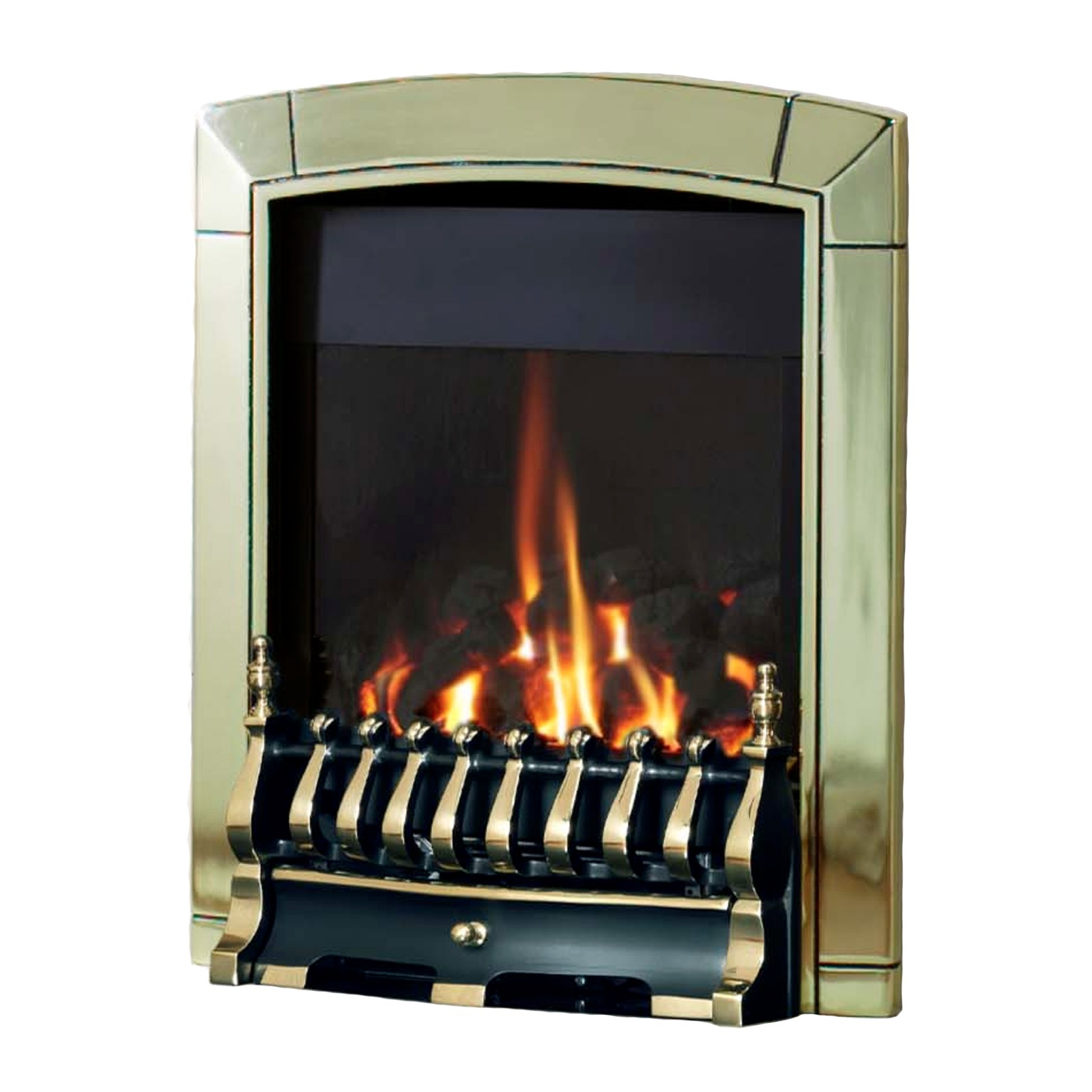 Striking Fire Flavel Caress Plus Traditional Brass Gas