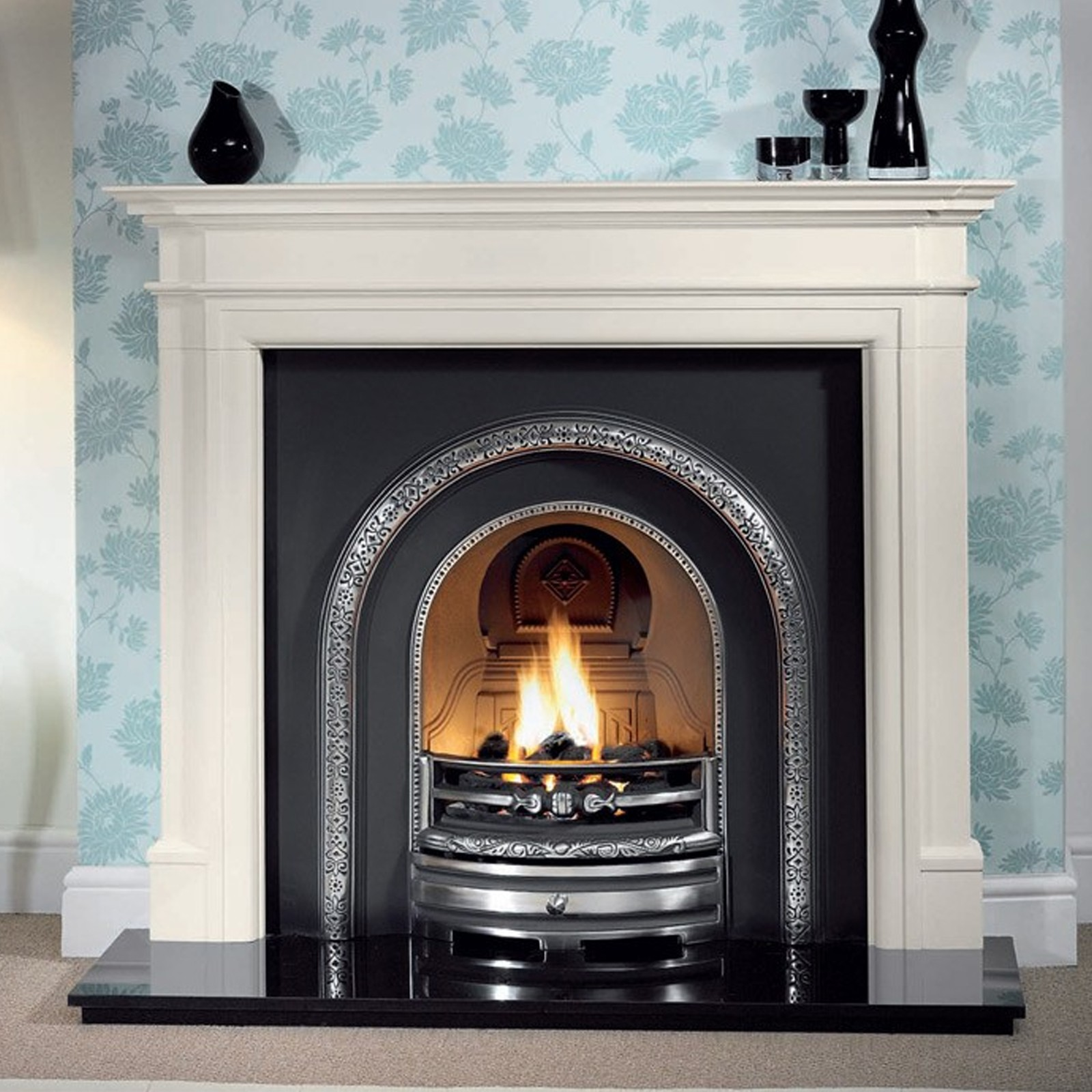 Cast In Place Chimney : Gallery bartello limestone fireplace includes lytton cast