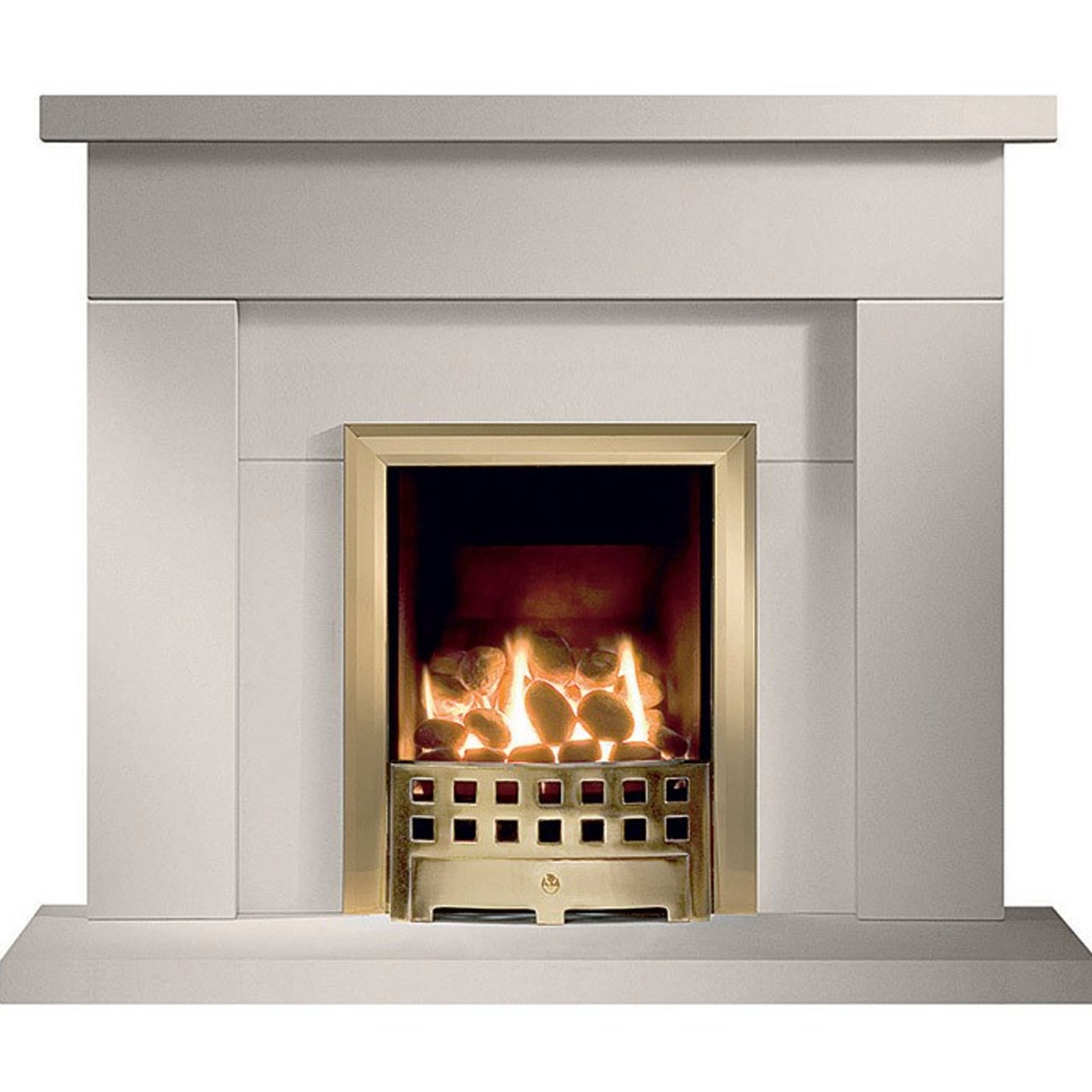 Modern style gallery durrington jurastone fireplace for Flagstone fireplace
