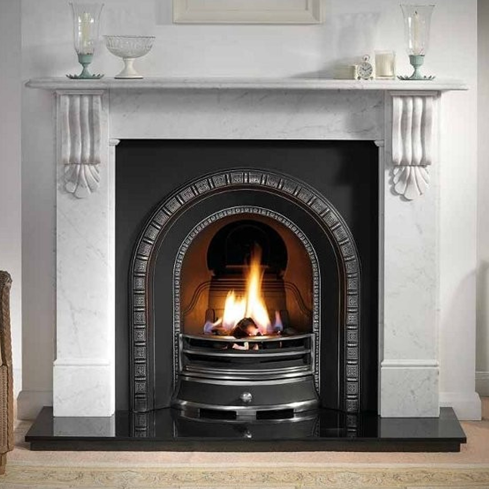 Victorian Style | Gallery Kingston Fireplace Includes Henley Cast ...