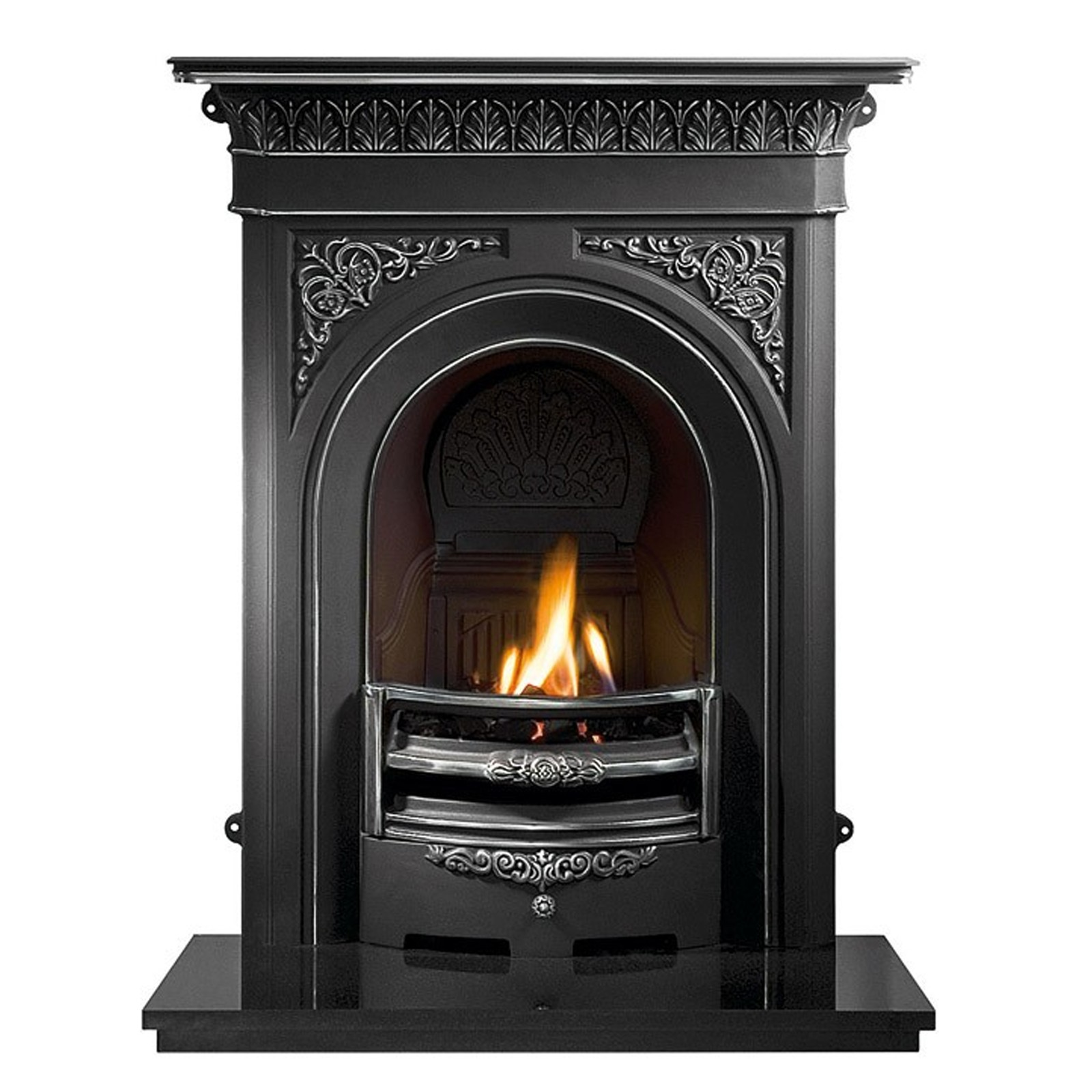 Solid Design | Gallery Nottage Cast Iron Fireplace | Cheap ...