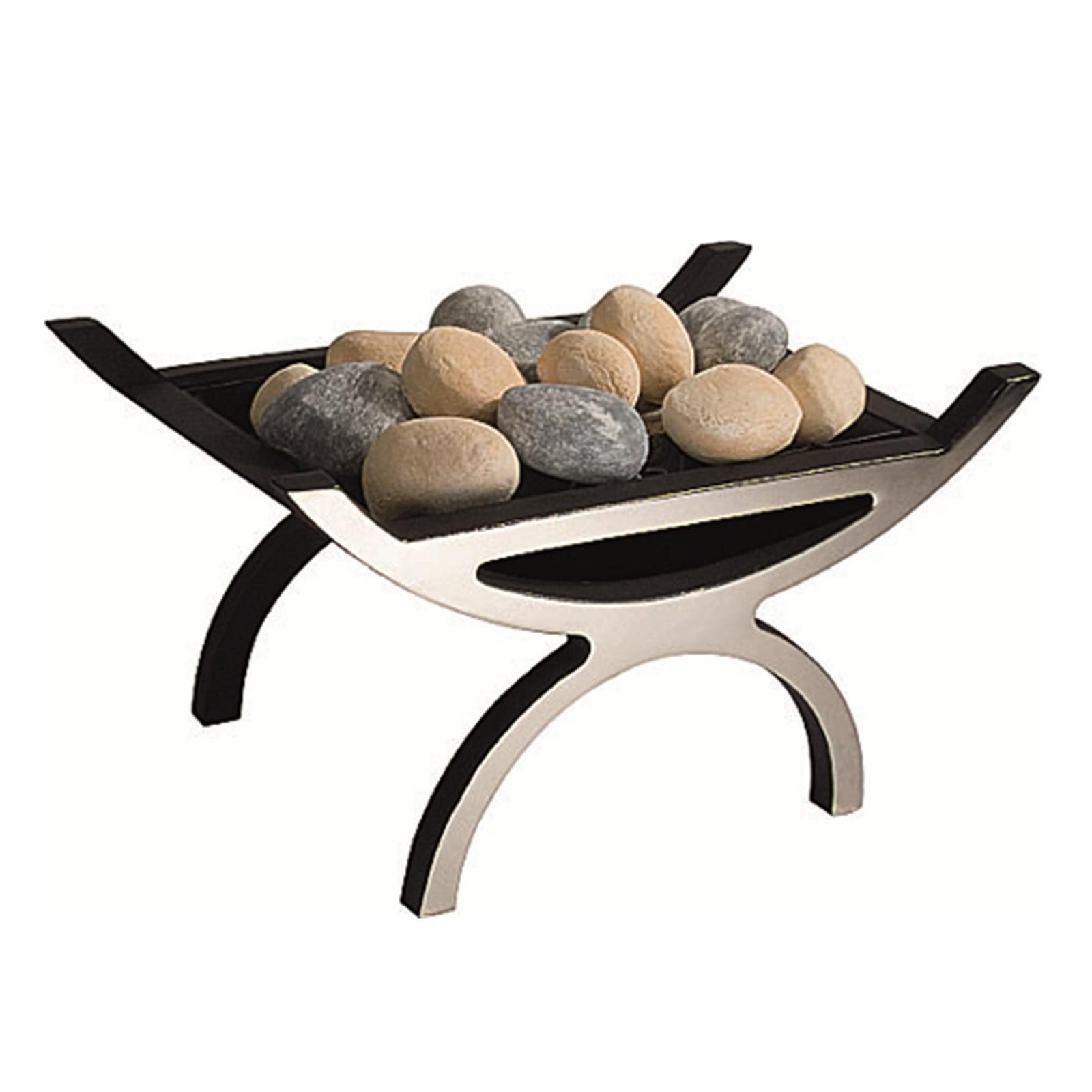 Modern Design Gallery Pulse Cast Iron Gas Fire Basket