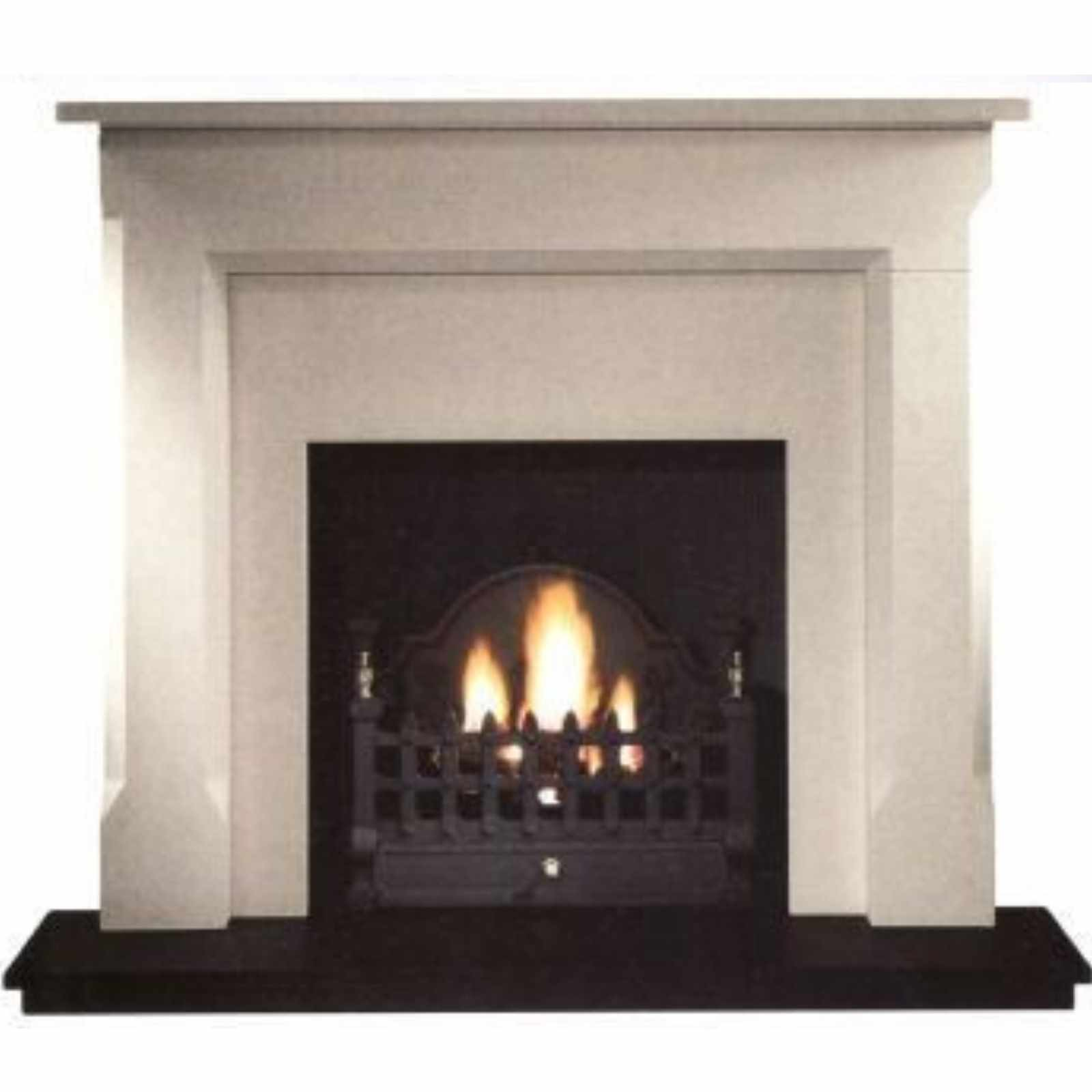 free delivery gallery sienna limestone fireplace includes