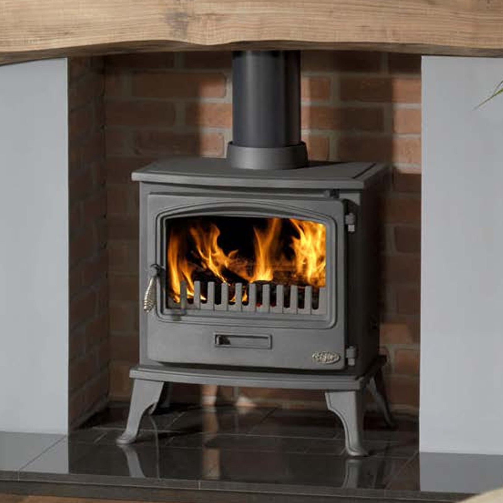 Gallery Tiger Clean Burn Defra Wood Burning Stove Incredible Prices