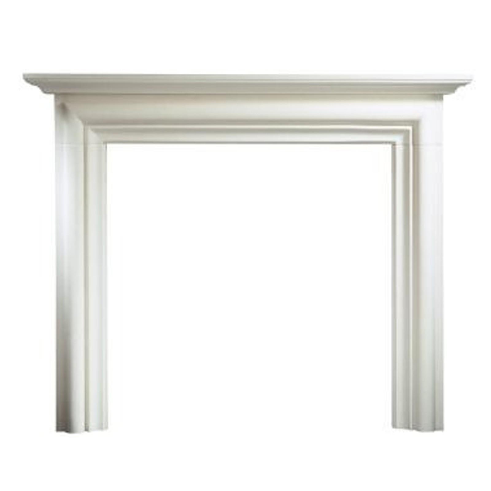Gallery Modena Limestone 55 Fireplace Surround Mantel Impressive