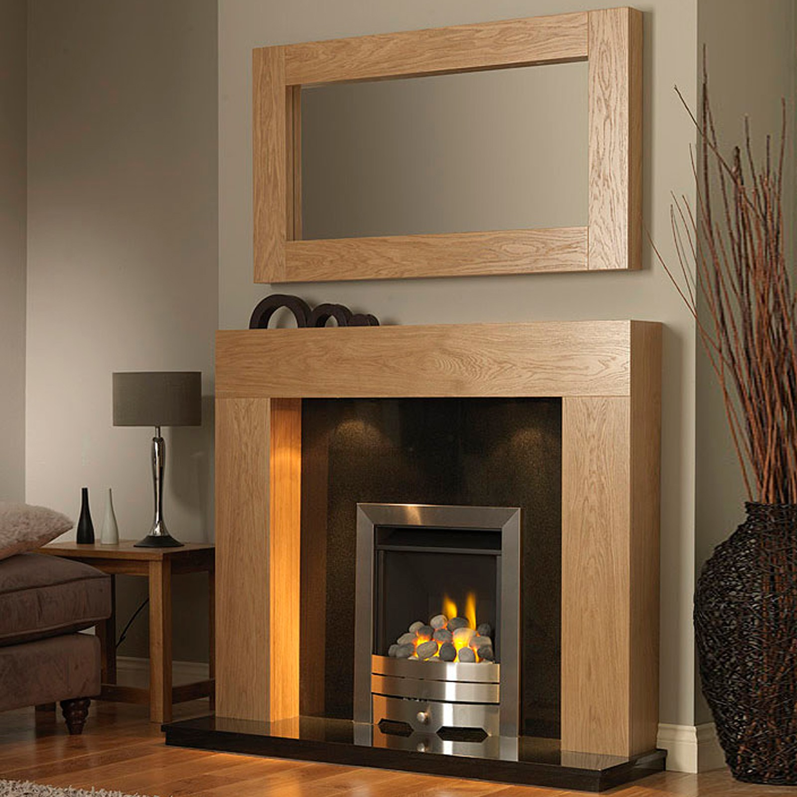 Uk 39 s best priced gb mantels windsor fireplace suite - Muebles de chimenea ...
