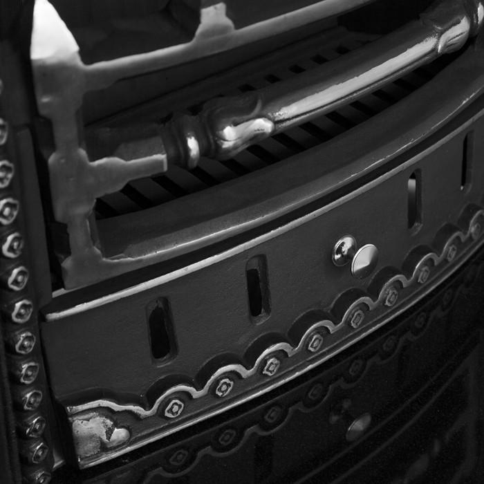 Carron Gothic Cast Iron Fireplace Suite Combination