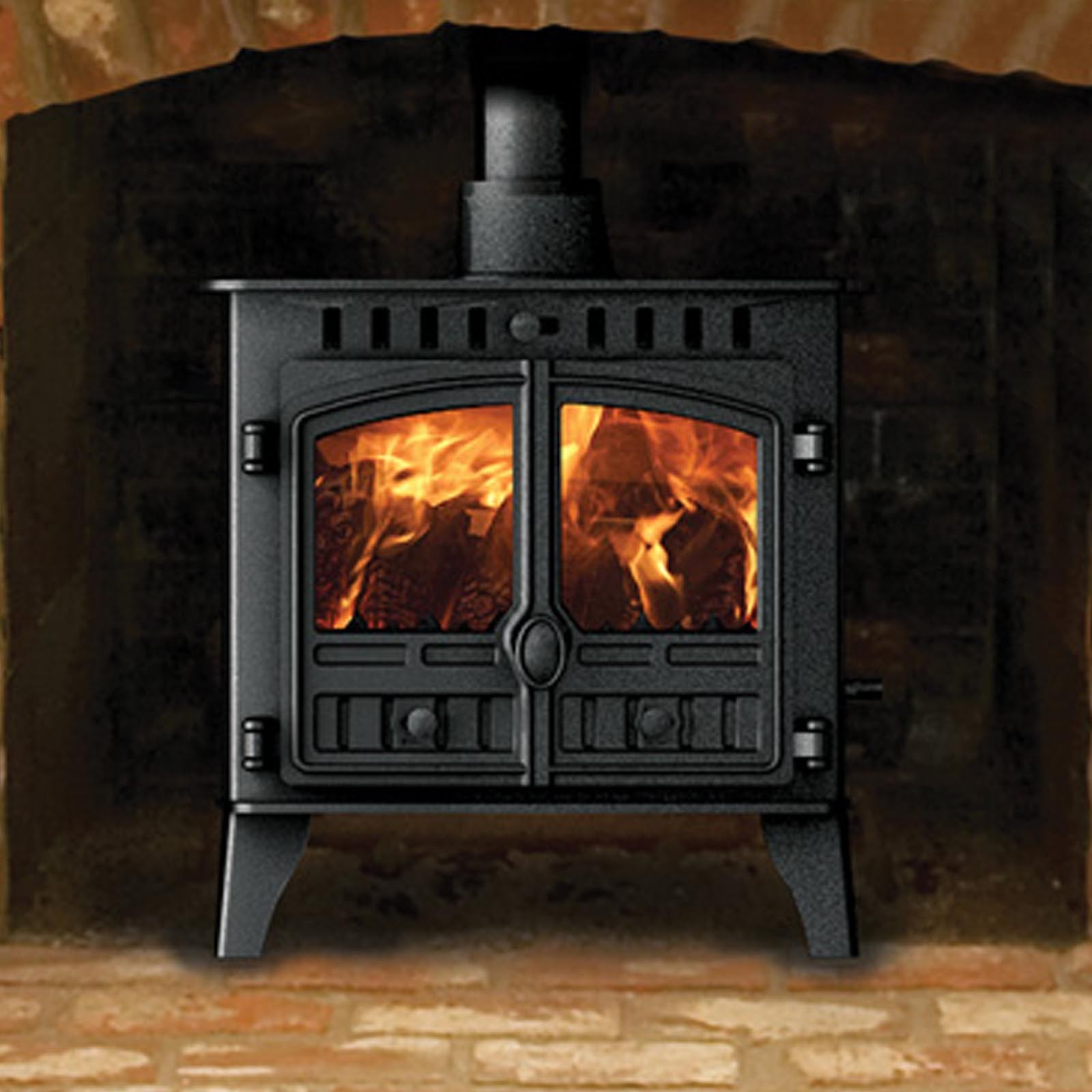 Best Prices Around Hunter Herald 5 Slimline Wood Burning