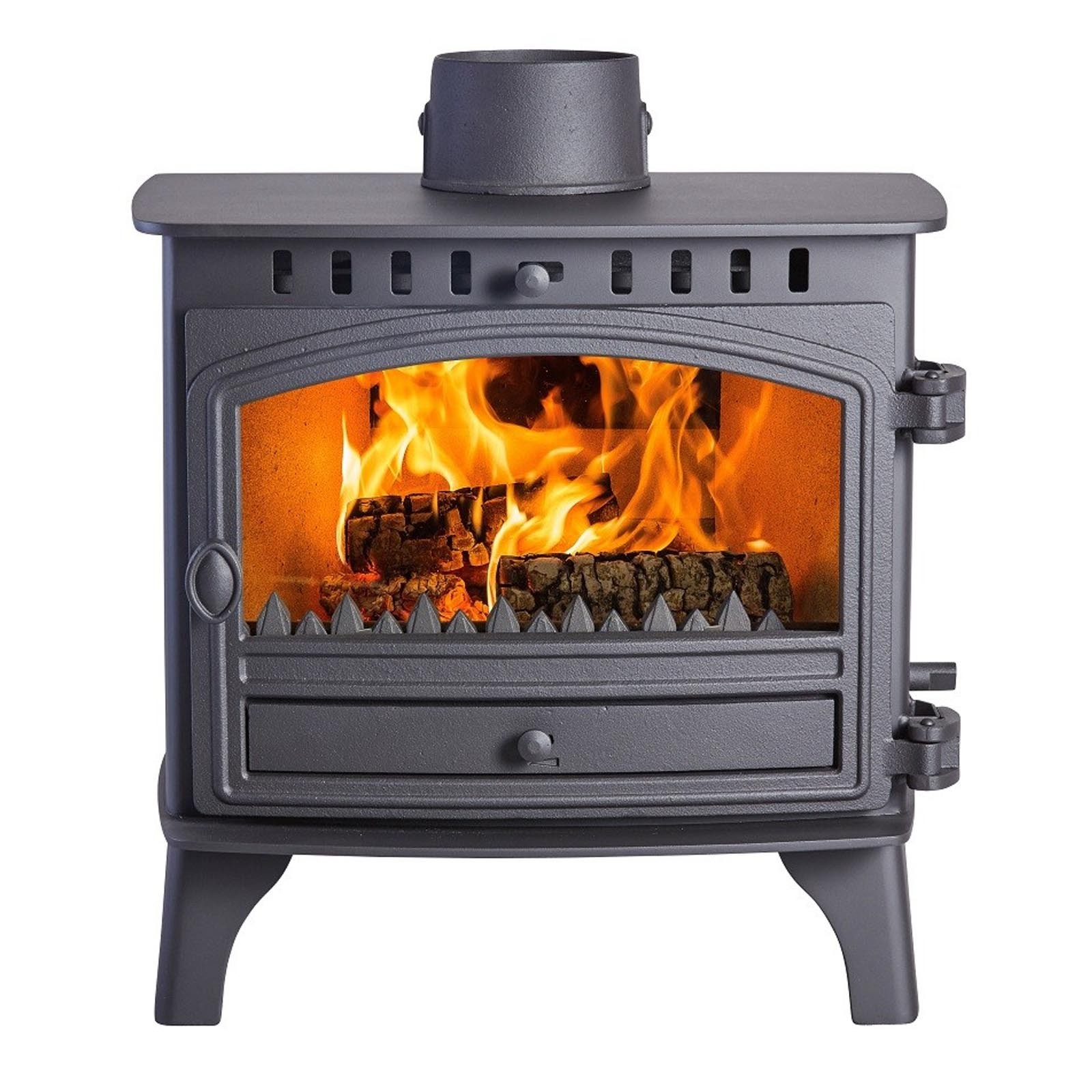 Free delivery hunter herald 8 stove low prices for Double sided fireplace price