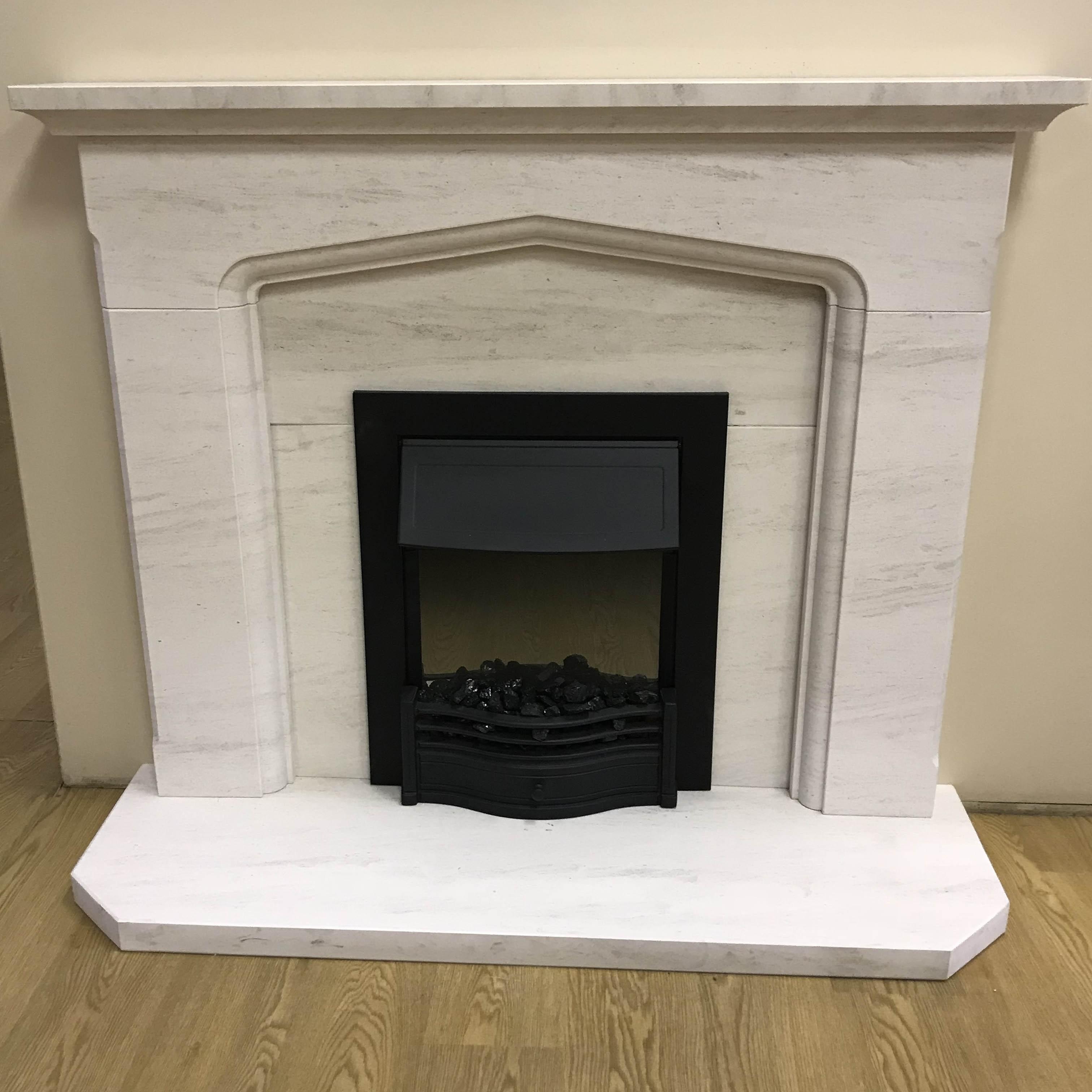 F4l Cusworth 49 Limestone Fireplace Suite