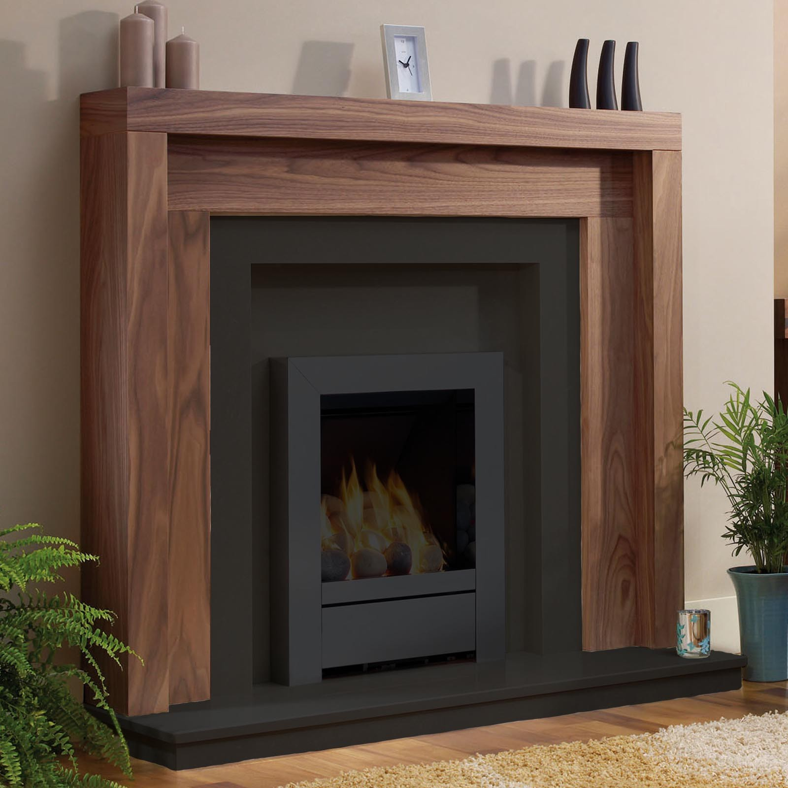 be modern kansas timber 47 fireplace surround