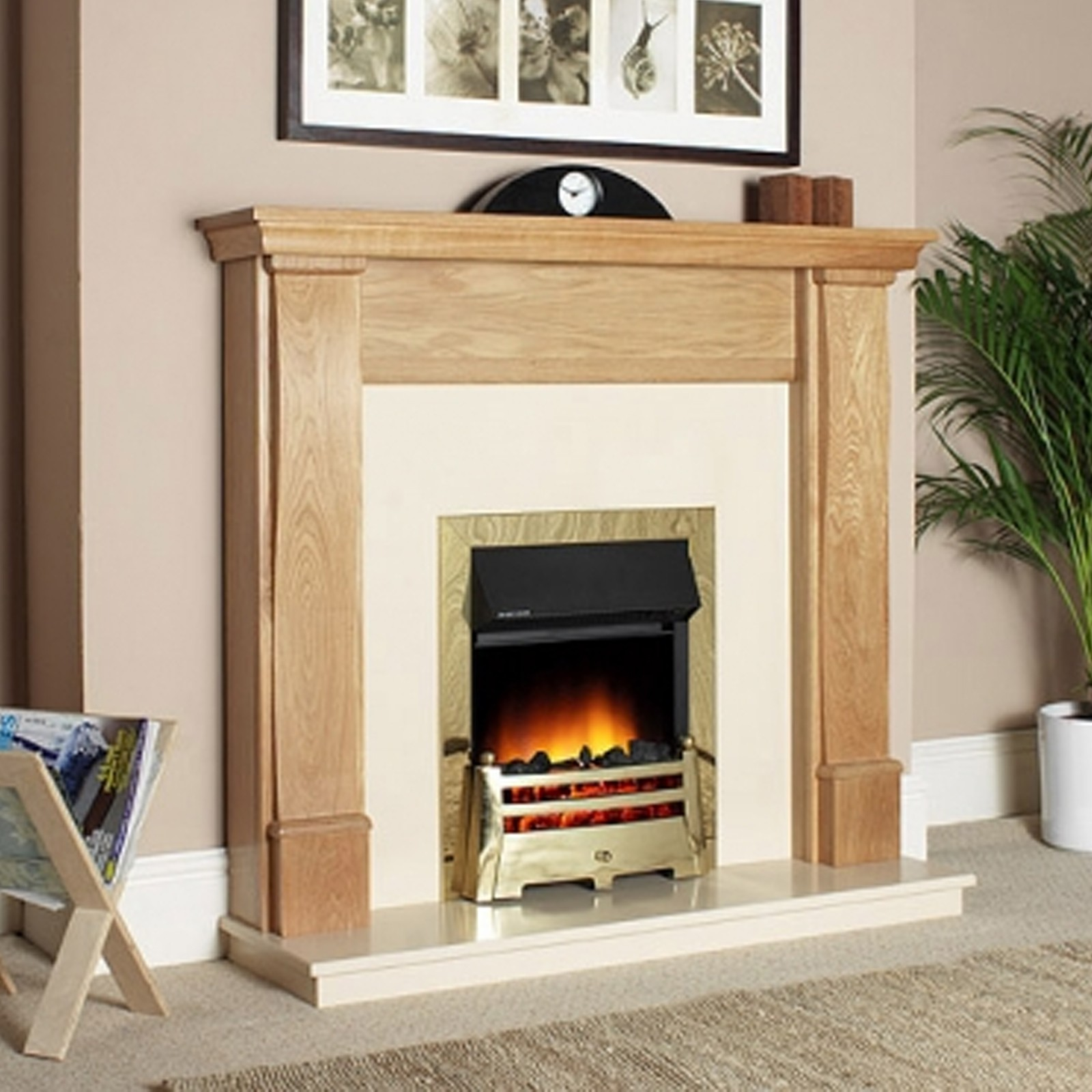 Wooden Suite Katell Cresswell Electric Fireplace Suite Cheapest Online Prices
