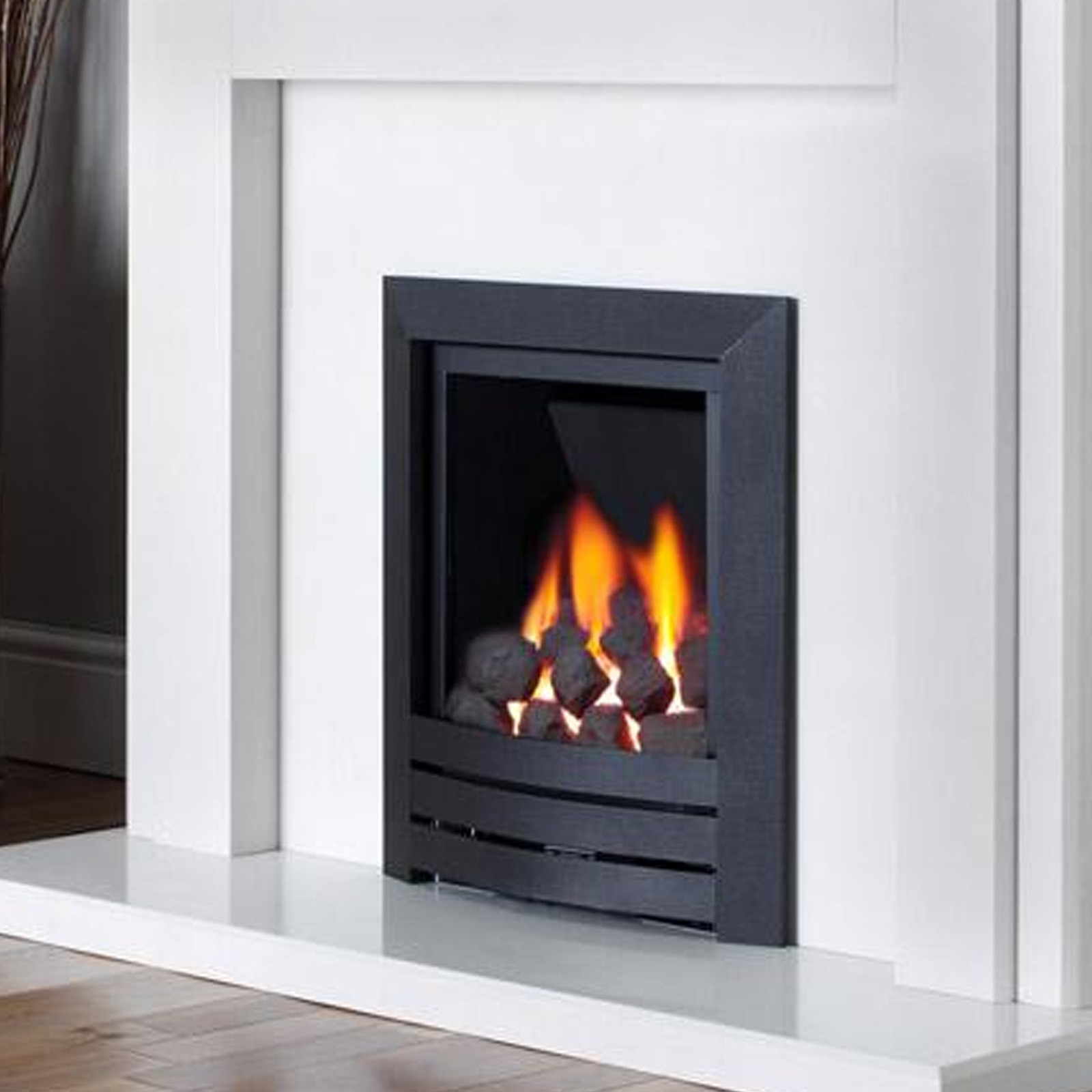 Beautiful Finish Kinder Black Magic Gas Fire Best Uk