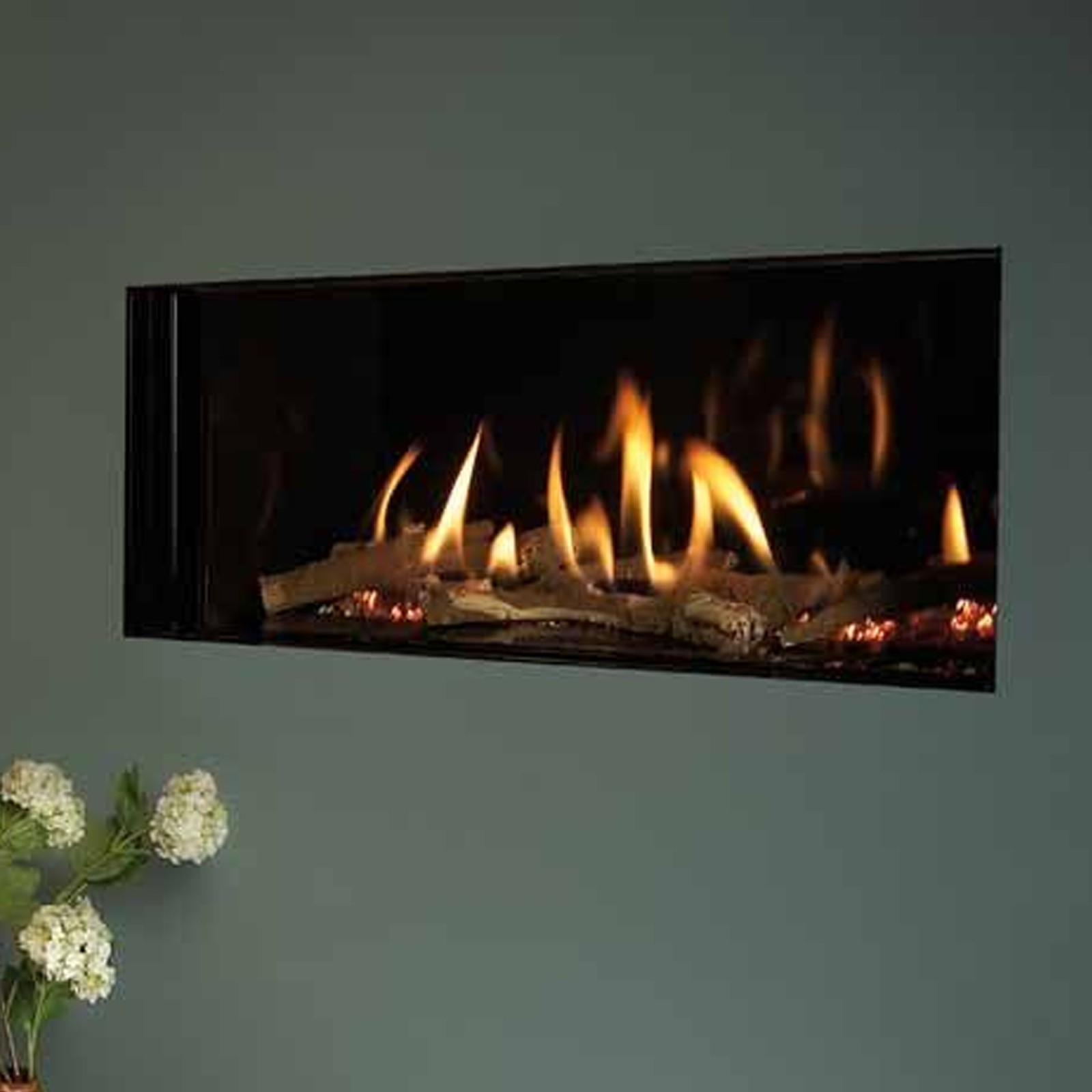 Super Prices Kinder Eden He Gas Fire High Efficiency Fire