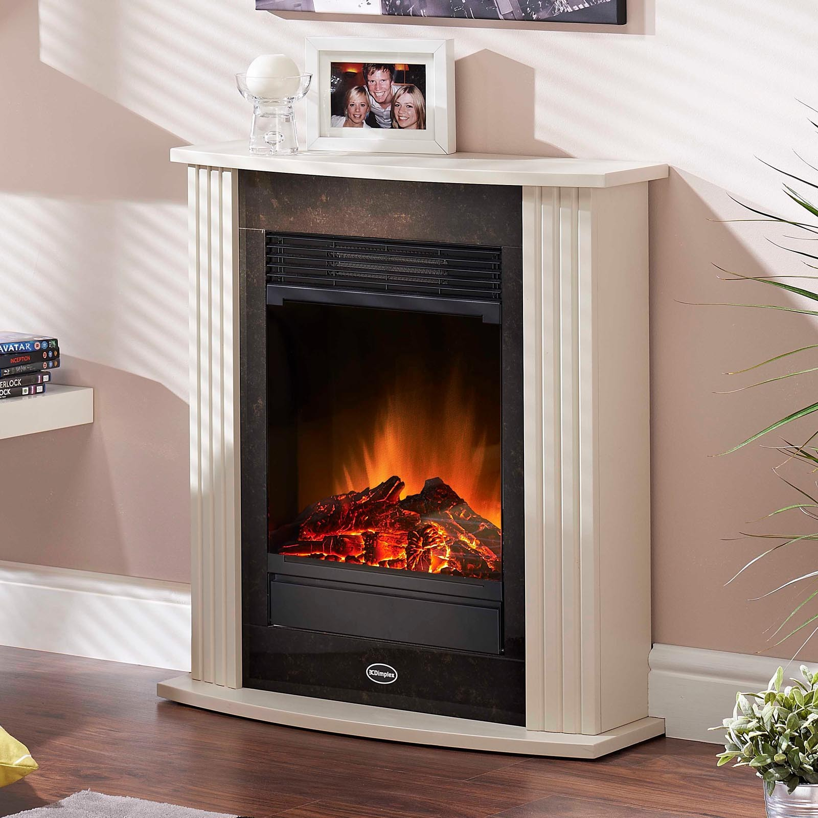We have a selection of smaller complete electric fireplace suites perfect for small living spaces for further information contact us today at sales@fireplaces4life.co.uk product