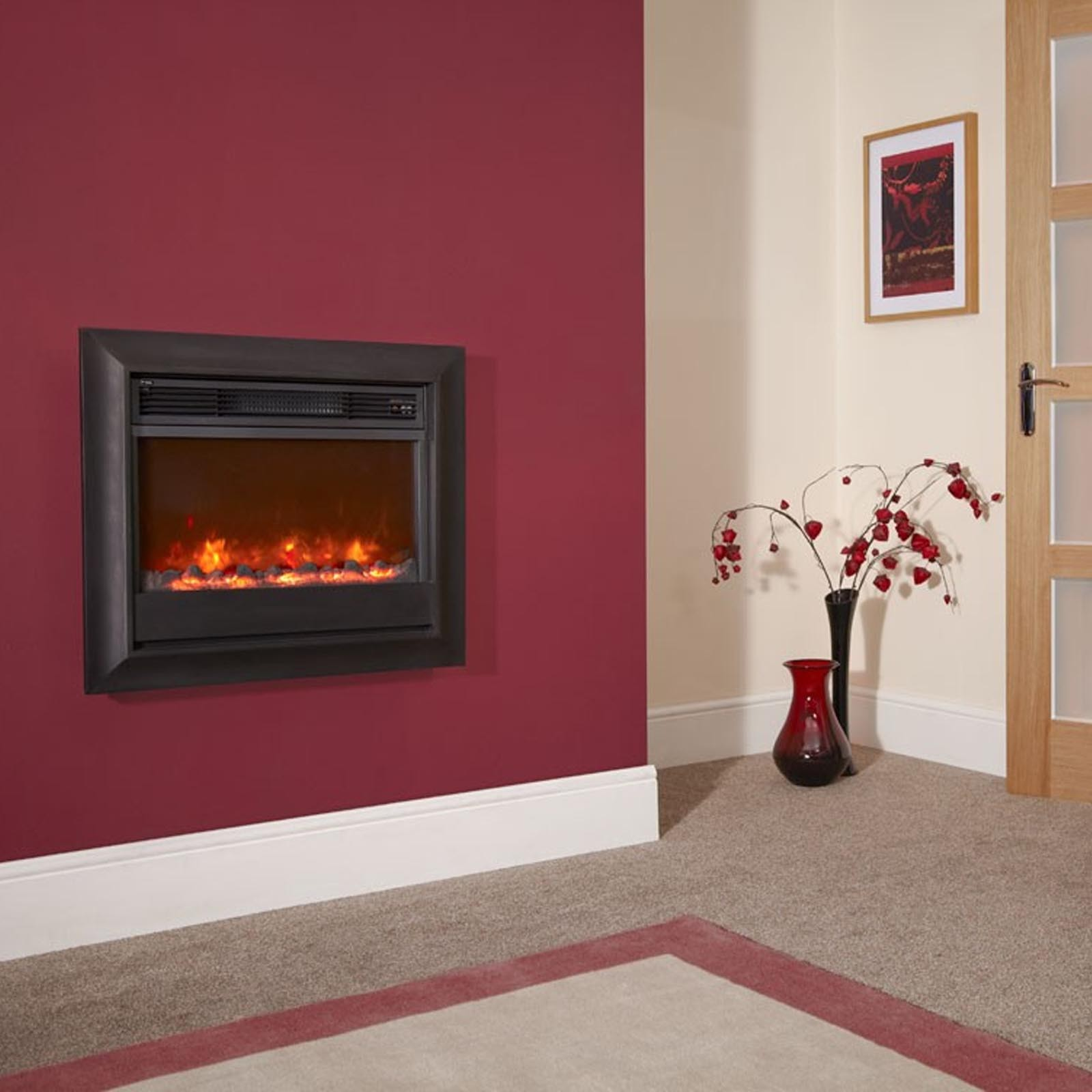 Fast Delivery Celsi Electriflame Oxford Wall Mounted