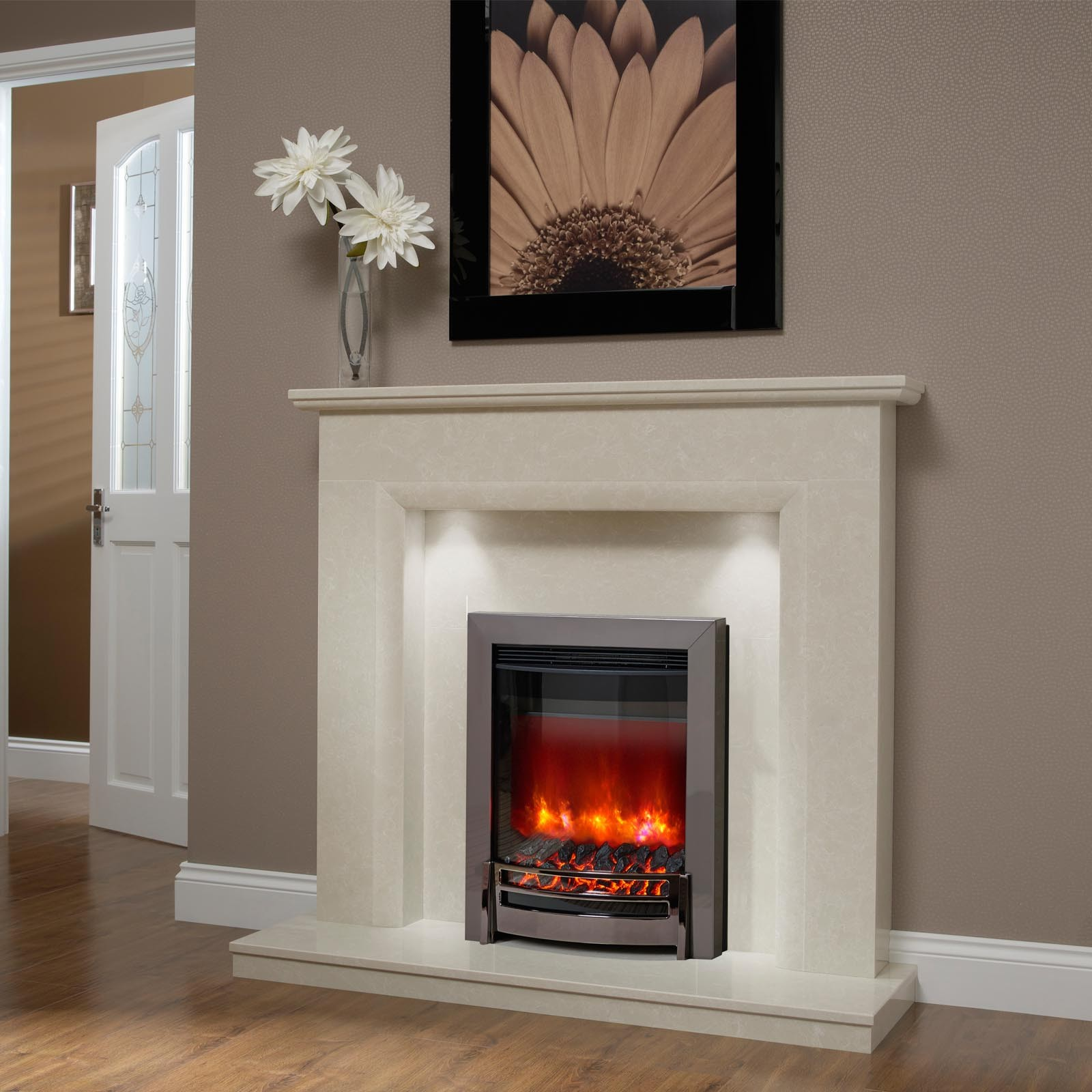 Surprising Elgin Hall Roesia Micro Marble Fire Surround Interior Design Ideas Tzicisoteloinfo