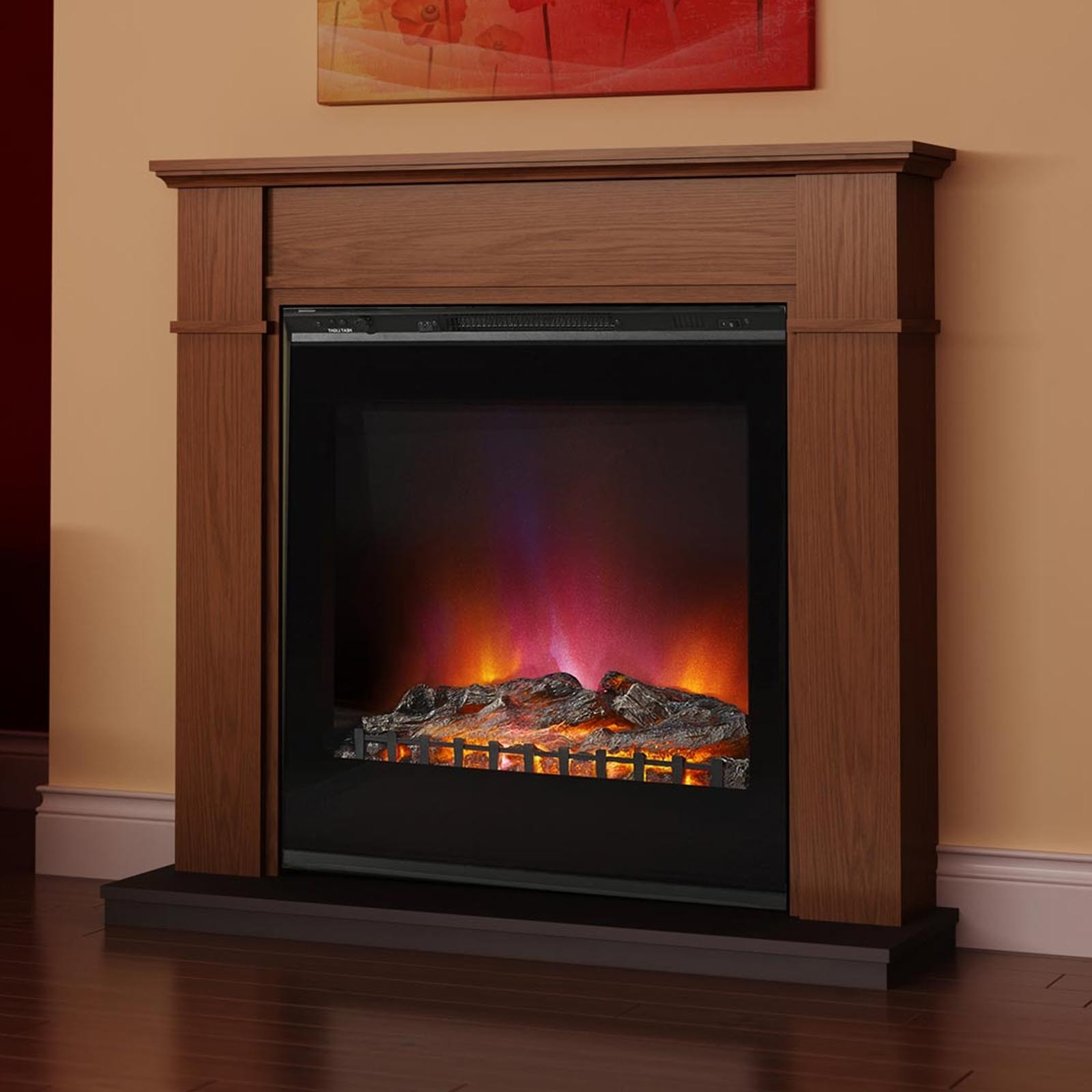 Low Prices Elgin Hall Sherwood Electric Fireplace Suite