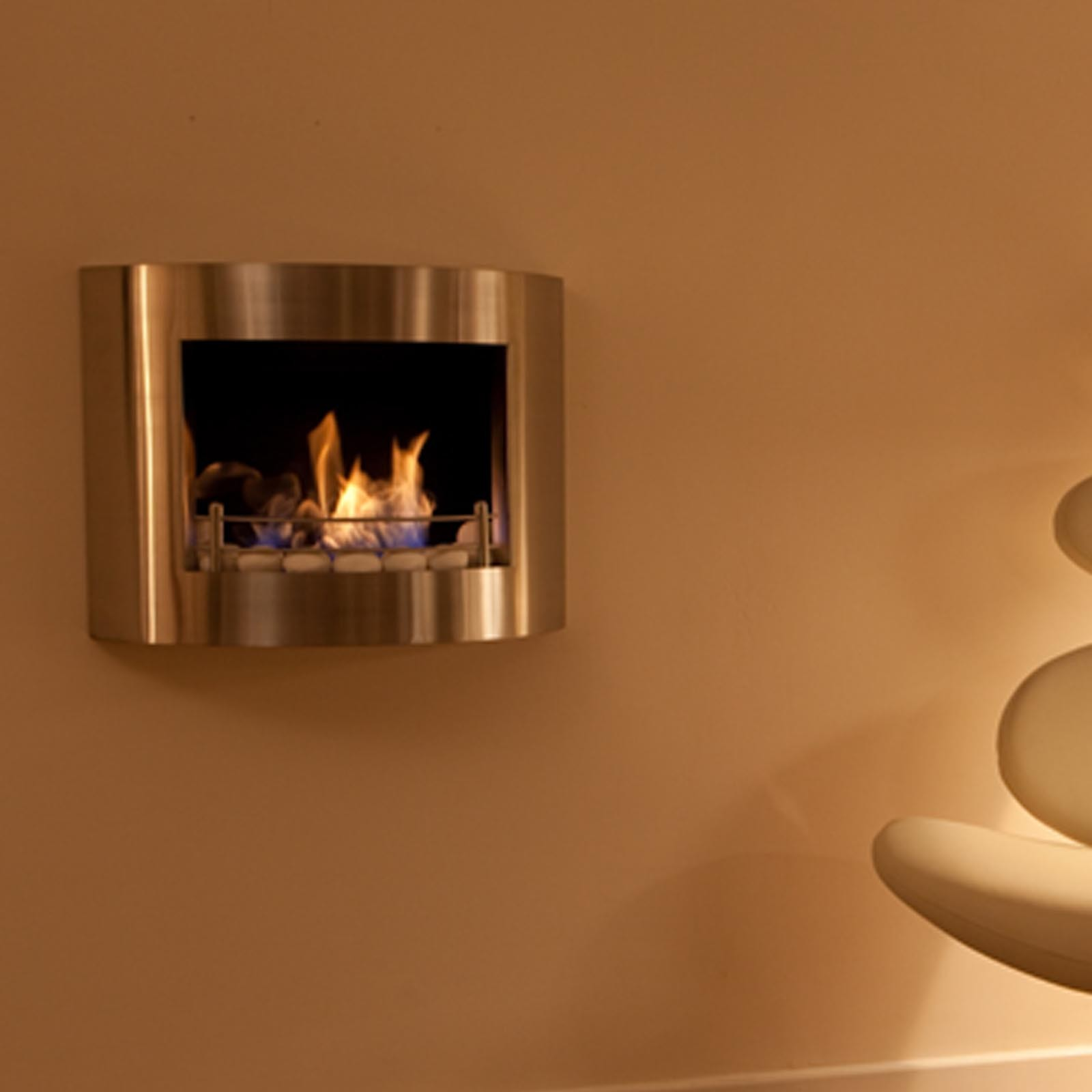 superb low prices the flame element bio ethanol wall