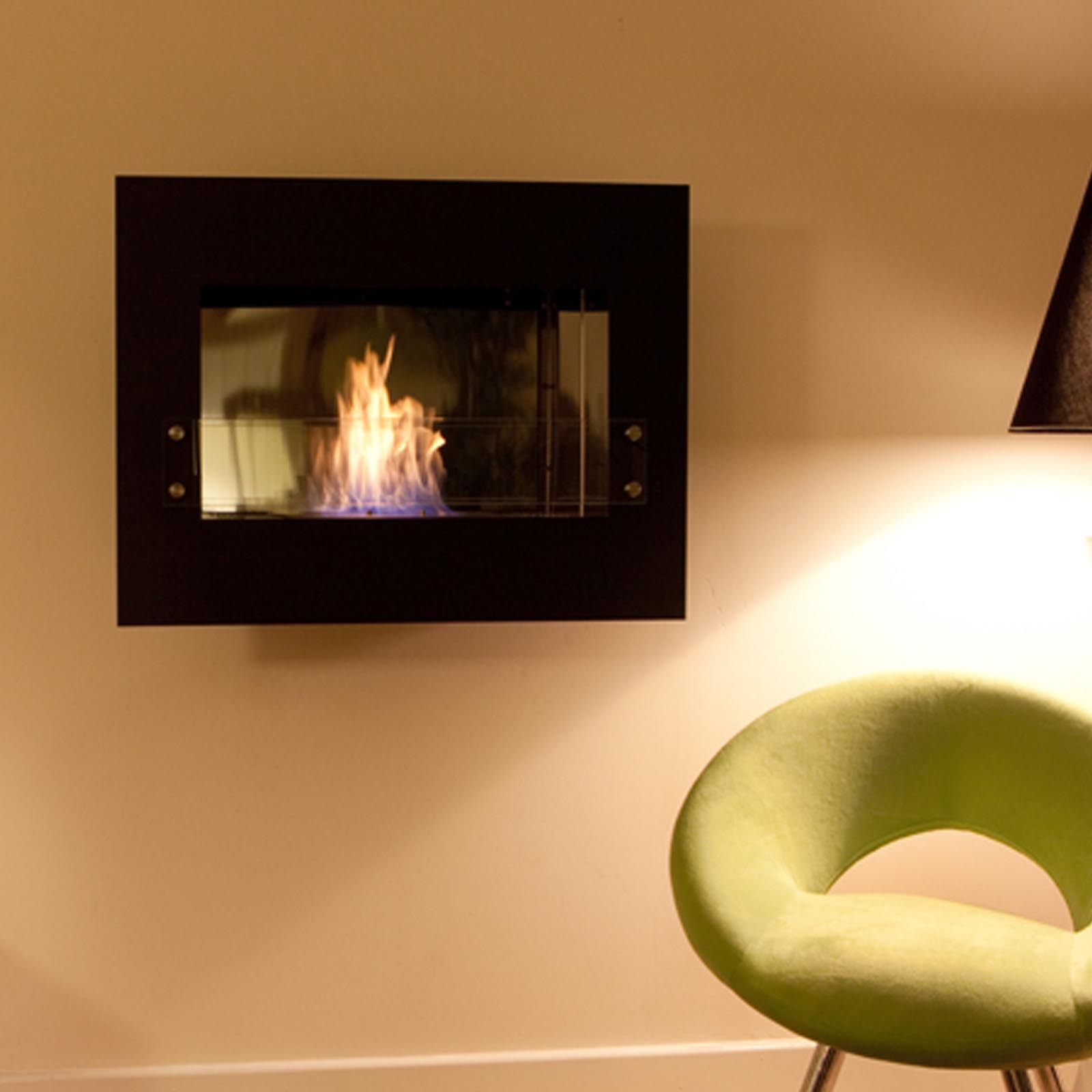brand new the flame infinity bio ethanol wall mounted fire