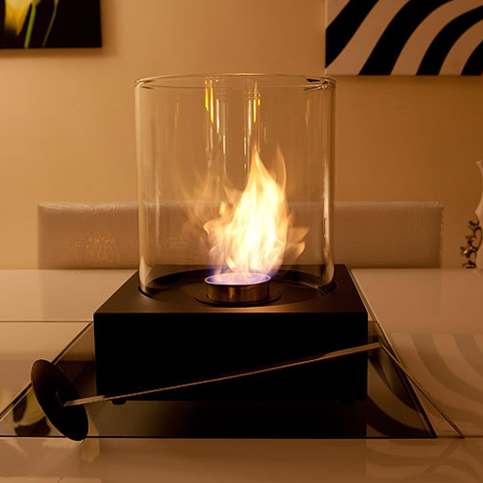 The Naked Flame Sphere Bio Ethanol Portable Fire