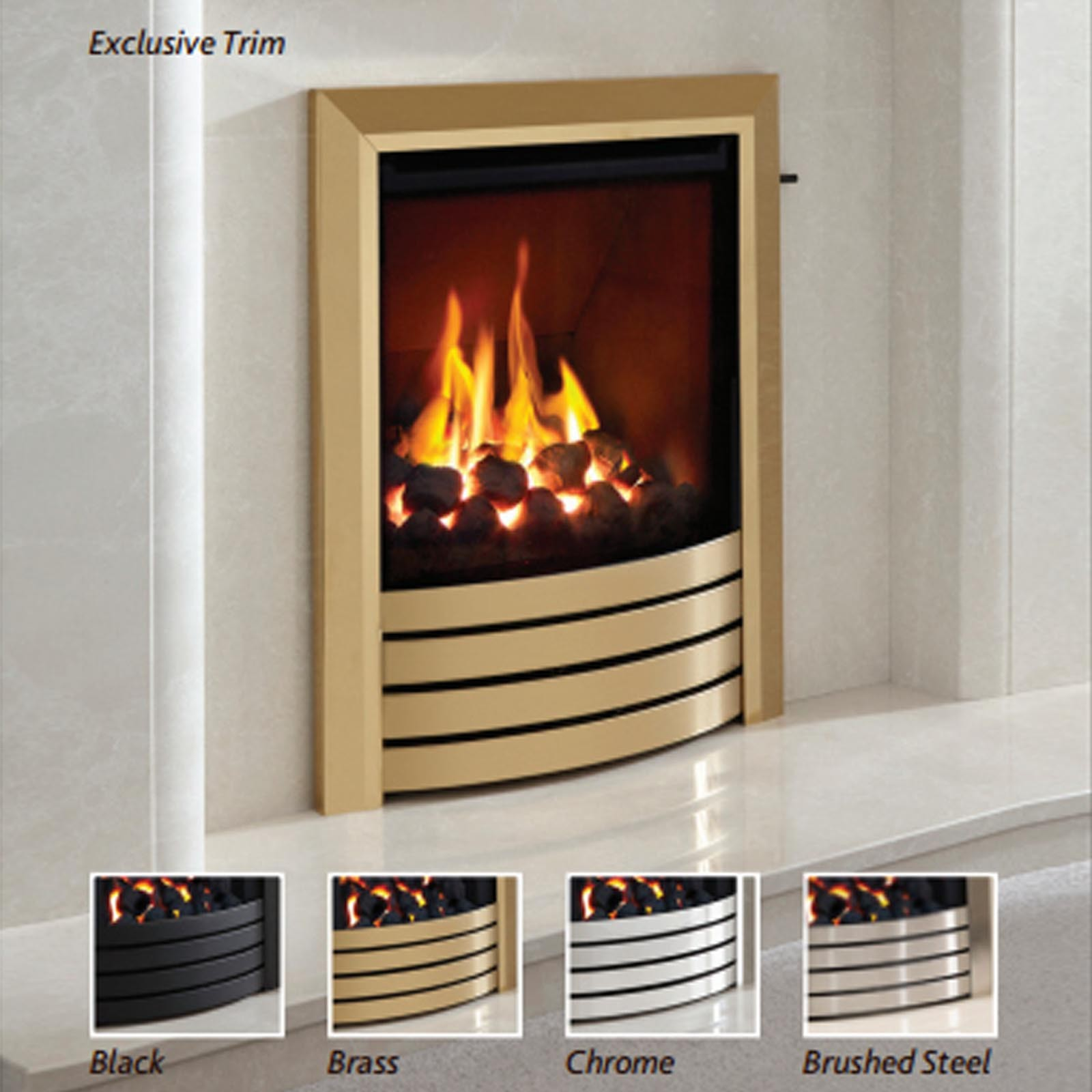 elgin u0026 hall utopia high efficiency gas fire free uk delivery
