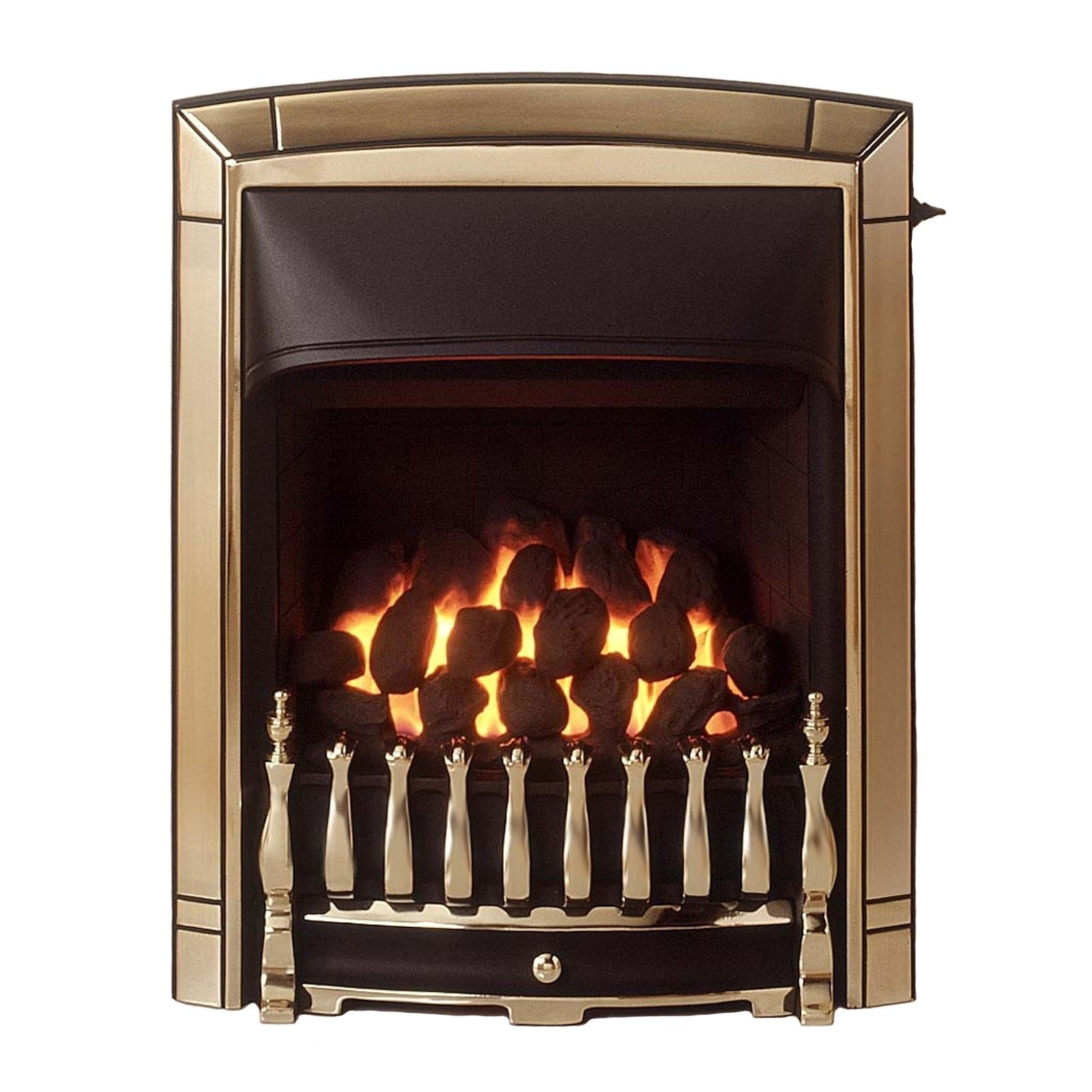 classic valor dream convector gold plated gas fire quality