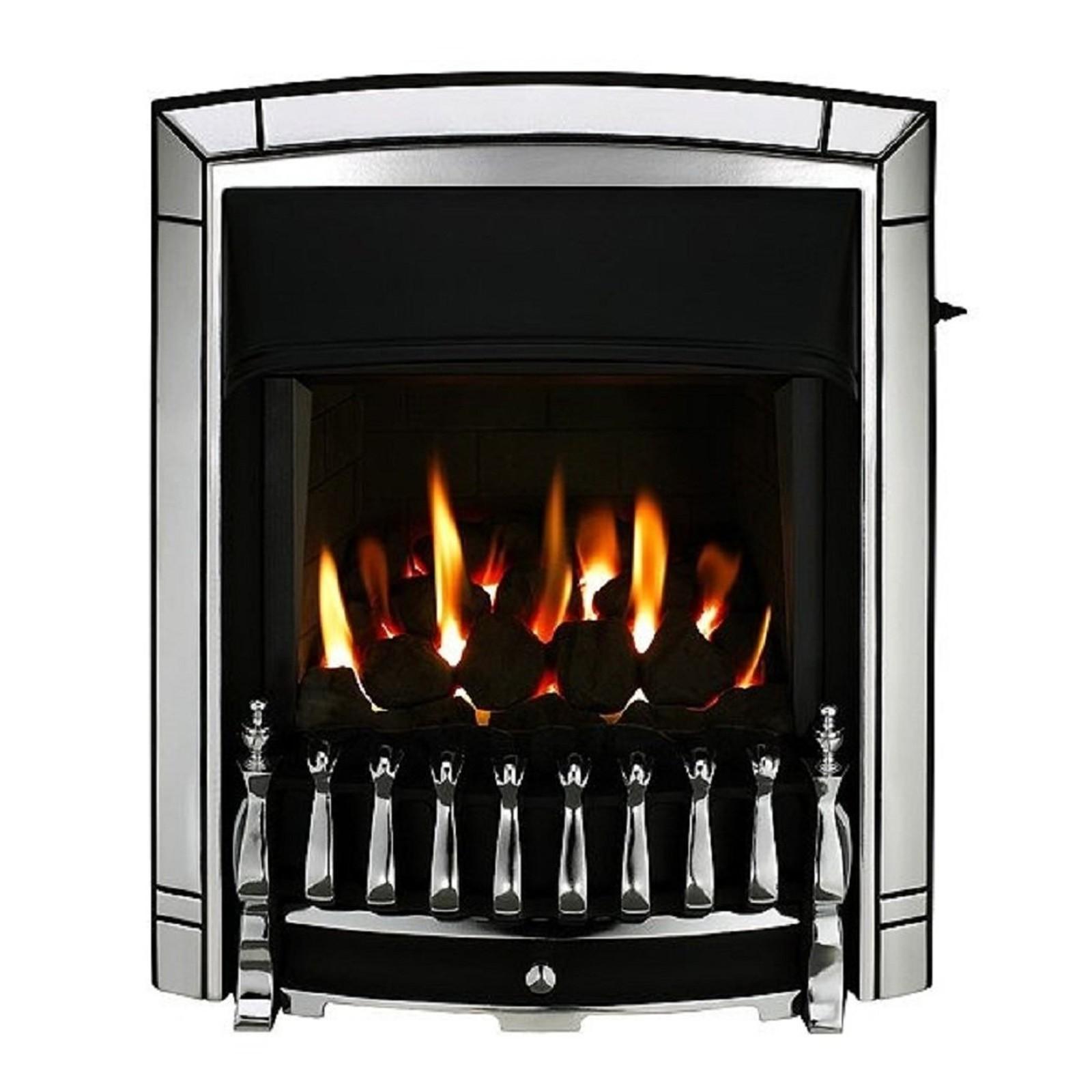 Traditional Valor Dream Homeflame Chrome Gas Fire
