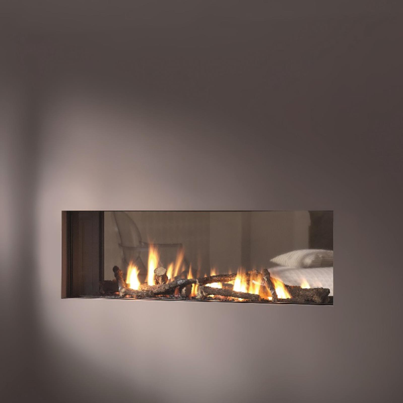 discount prices vision trimline tl100t tunnel gas fire free