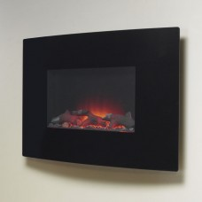 Suncrest Radius 36'' Wall Mounted Electric Fire