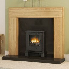 """Be Modern 52"""" Whinfell Solid Oak Fireplace Suite"""