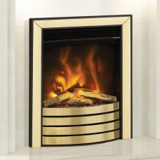 Elgin & Hall Pryzm Devotion Electric Fire With 4 Bar Fret