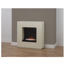 Fireplaces 4 Life Alton 36'' Cream Electric Fireplace Suite