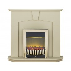 Fireplaces 4 Life Abbey 48'' Elise Electric Fireplace Suite