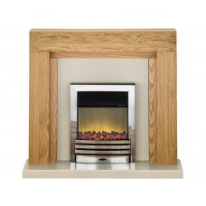 Fireplaces 4 Life Beaumont 48'' Eclipse Electric Fireplace Suite