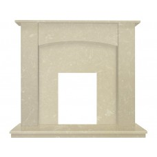 Fireplaces 4 Life Camber 48'' Roman Stone Marble Fireplace