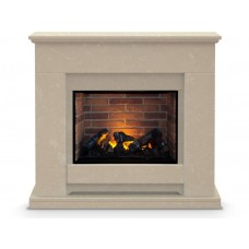 Fireplaces 4 Life Camden Marble 39'' Optimyst® Electric Fireplace Suite